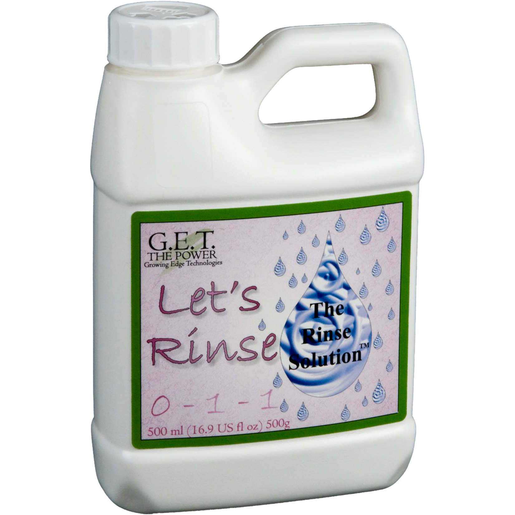G.E.T. Nutrients LETS RINSE 500ML