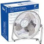 """WindMaker 9"""" Floor Fan 120V 60W"""