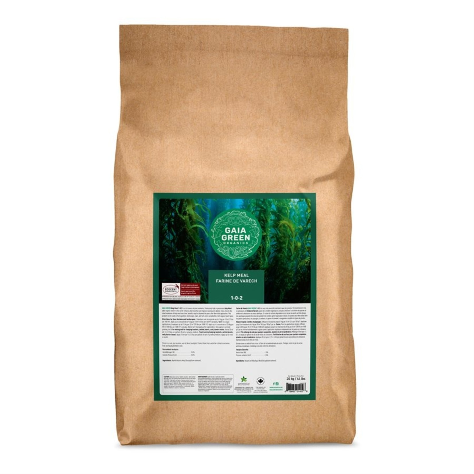 GAIA GREEN KELP MEAL 1-0-2 20 KG