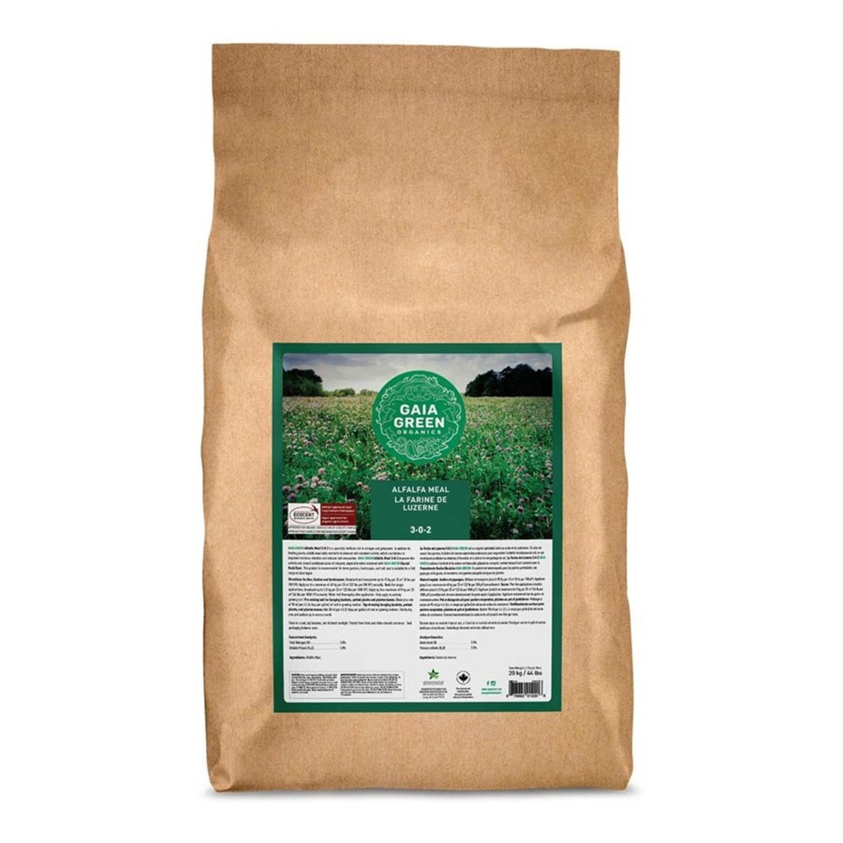 gaia green GAIA GREEN ALFALFA MEAL 3-0-3 20KG