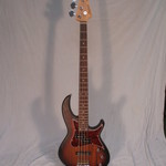 Aria Aria Hot Rod Collection 313-MK2 Open Pore Sunburst Detroit Electric Bass Guitar