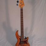 Aria Aria Hot Rod Collection 313-MK2 Open Pore Natural Detroit Electric Bass