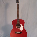 Aria Aria Urban Player Series OM STRD Stained Red Acoustic Guitar (no preamp/no pickup)