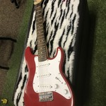 USED Fender Squire Mini Red