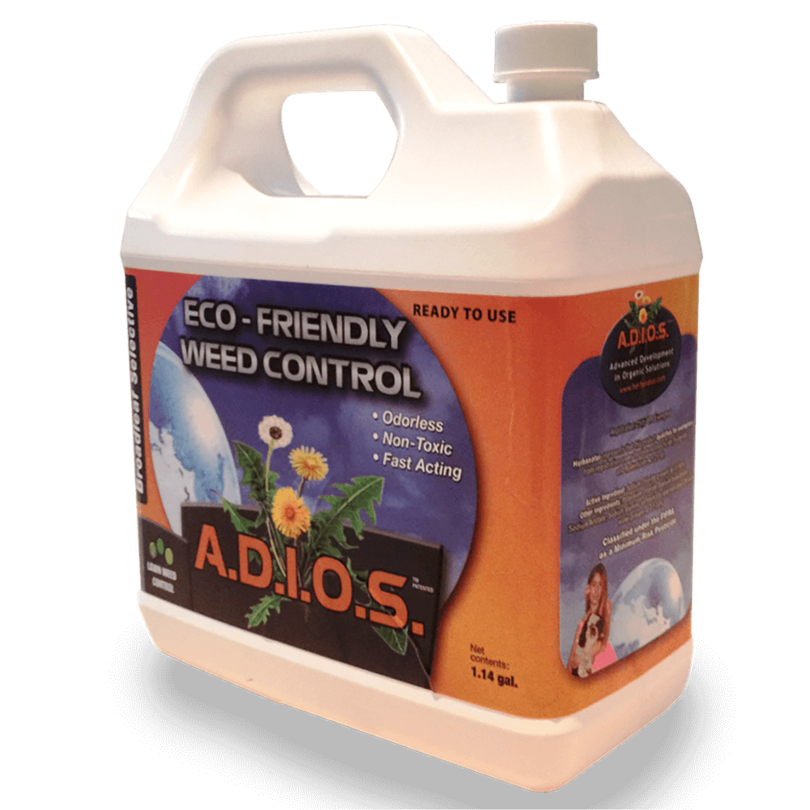 A.D.I.O.S. A.D.I.O.S. Bio-Herbicide Pelouse 4L Concentrate
