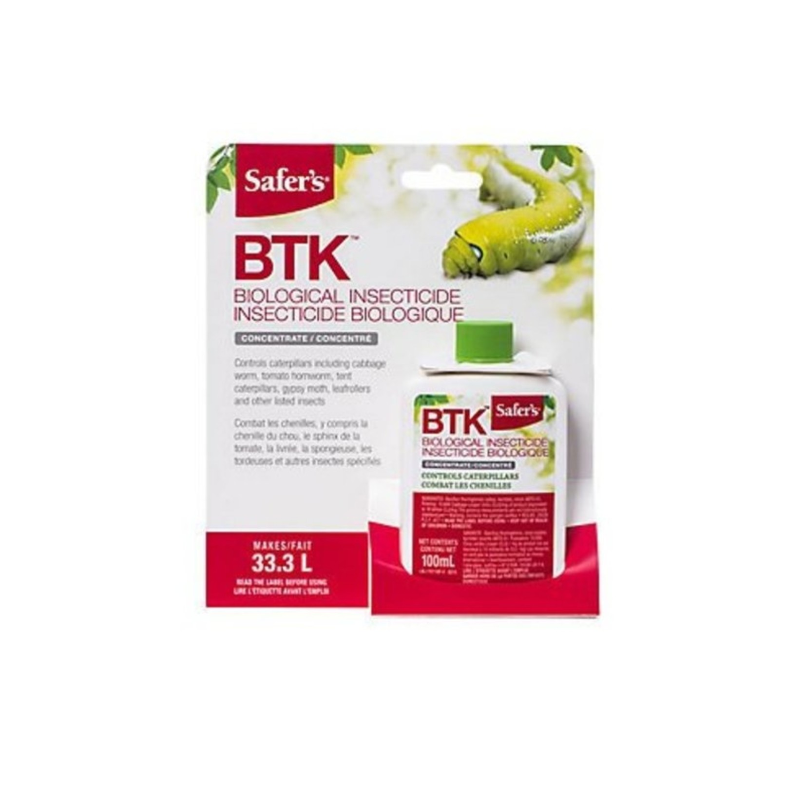 Safer's 100ml BTK INSECTICIDE CONC