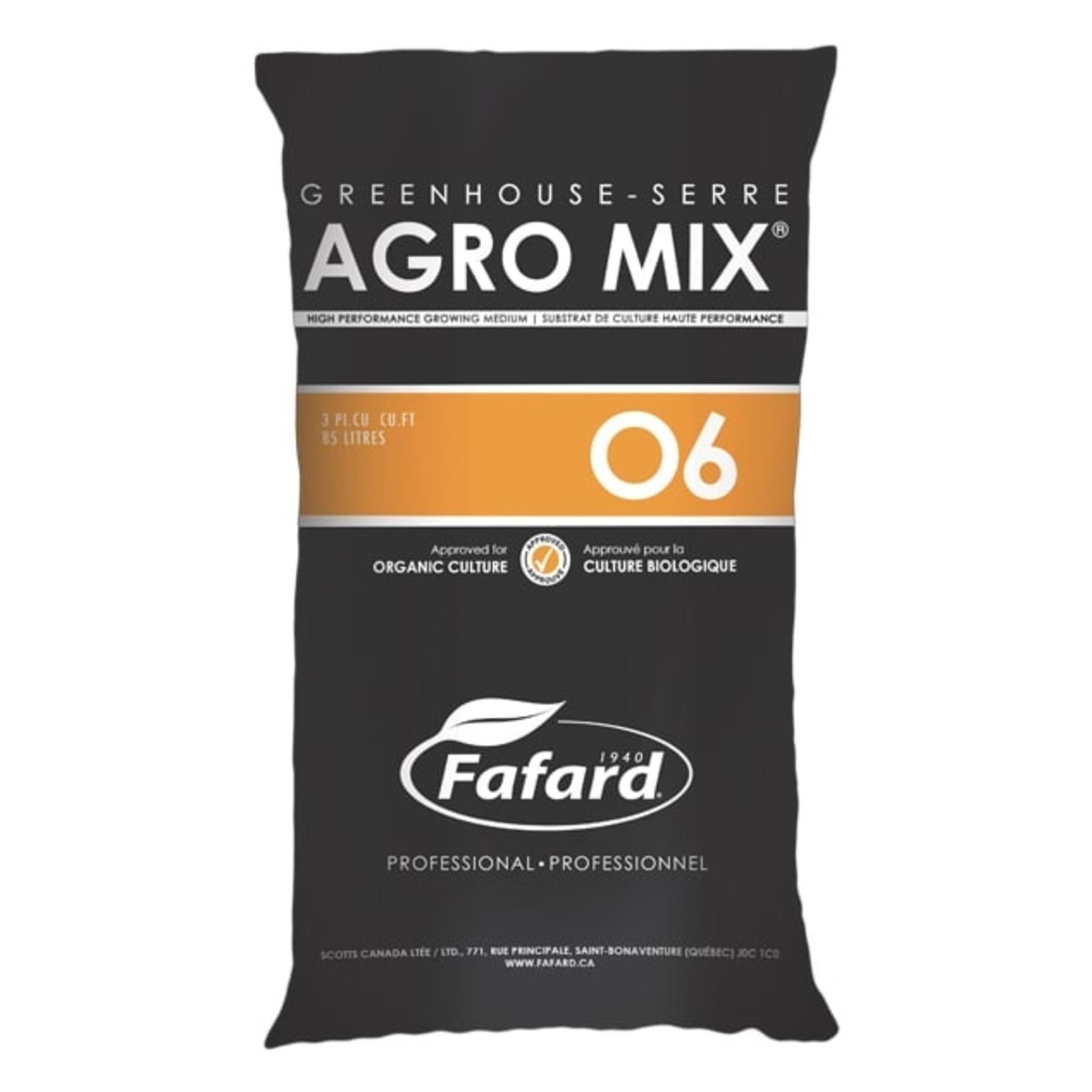 Fafard Fafard AGRO MIX O6 (Bio) 85 L