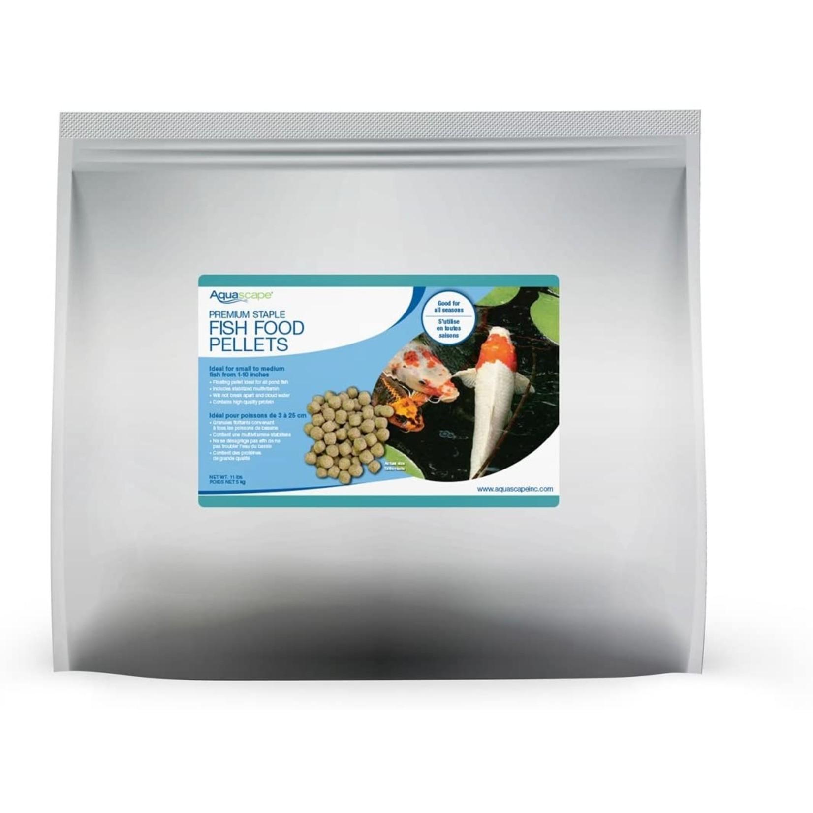 Aquascape Premium Staple Fish Food Pellets 5kg