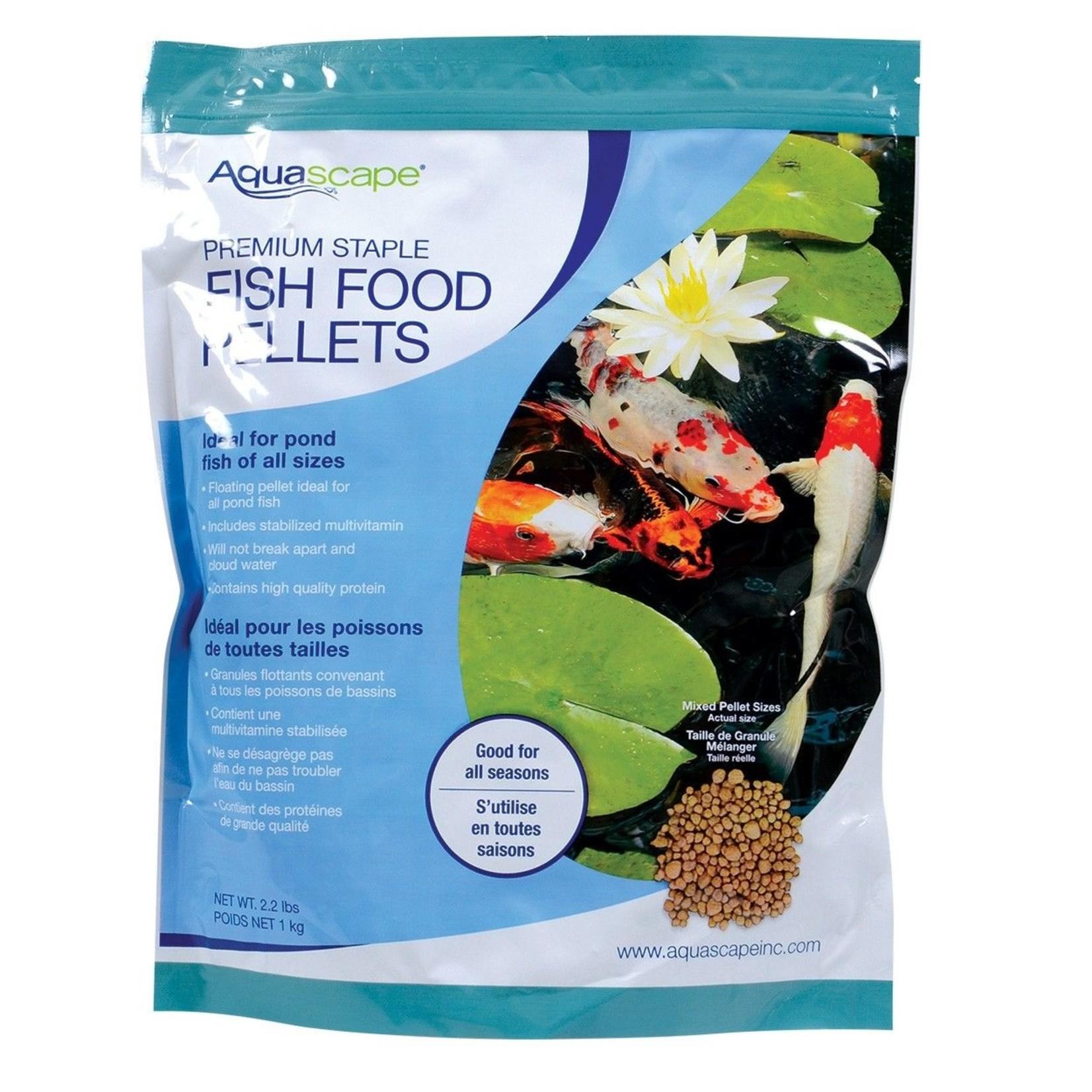 Aquascape Premium Staple Fish Food Pellets 1kg