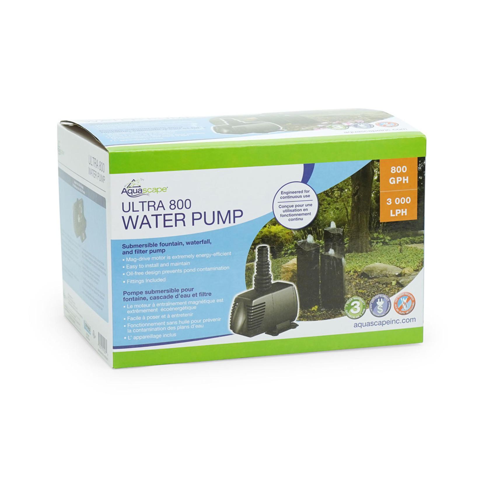 Aquascape Pompe D'eau Ultra 800