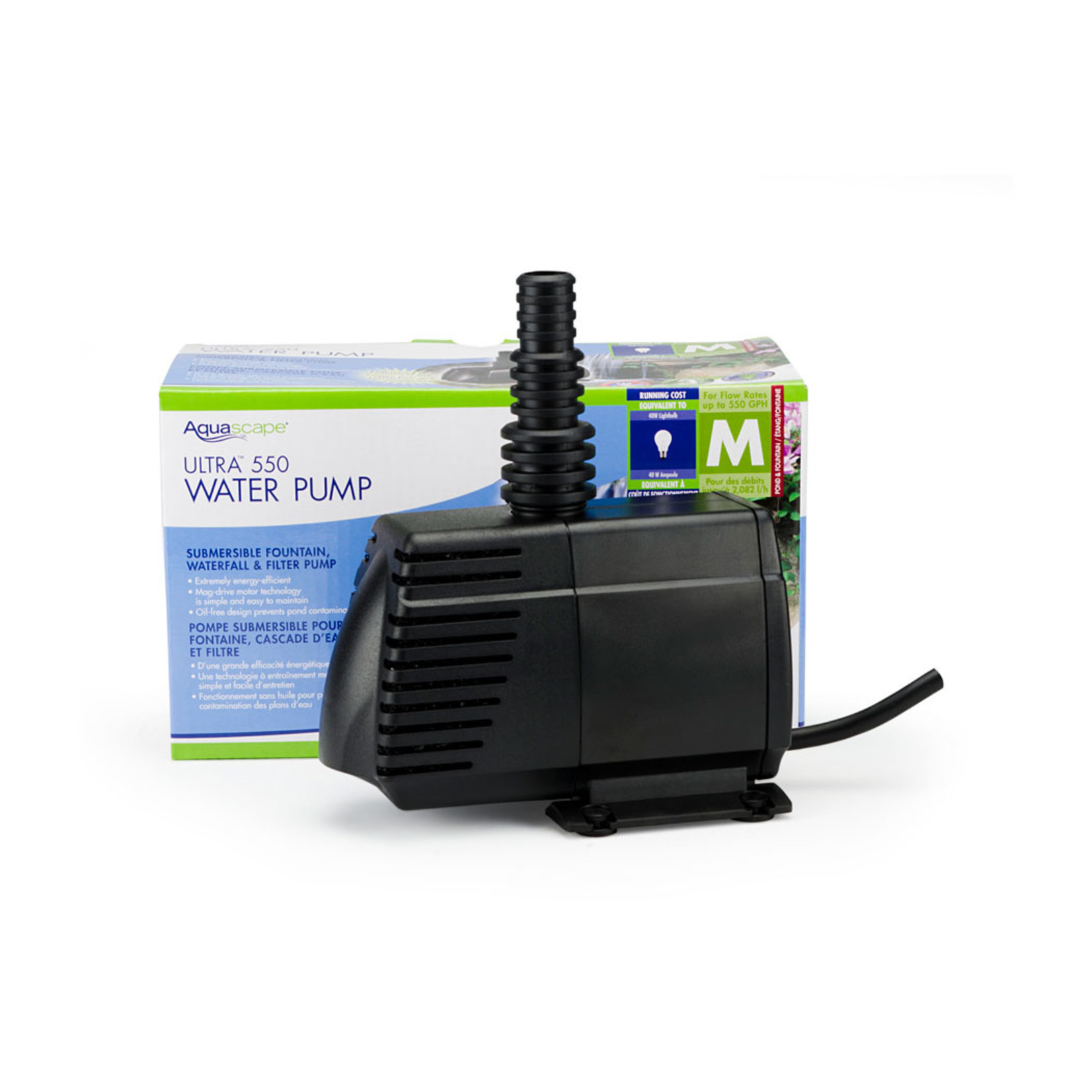 Aquascape Pompe D'eau Ultra 550