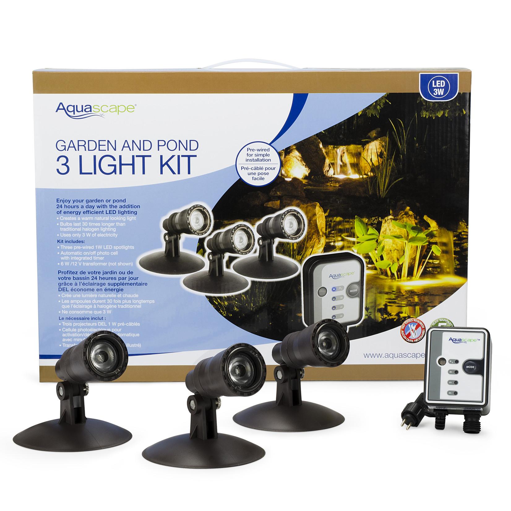 Aquascape Kit D'éclairage LED Pour Étang et Paysage