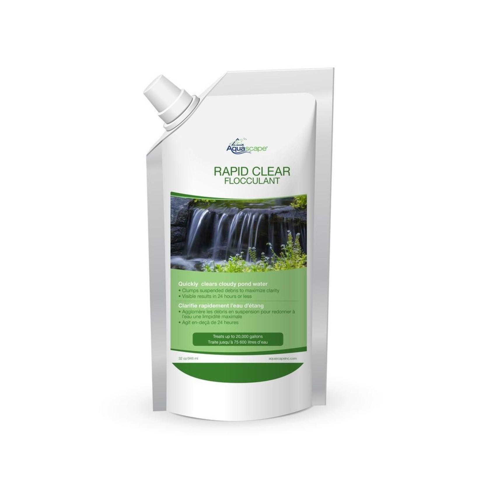 Aquascape Pochette de Recharge de Liquide Rapid Clear 32 oz