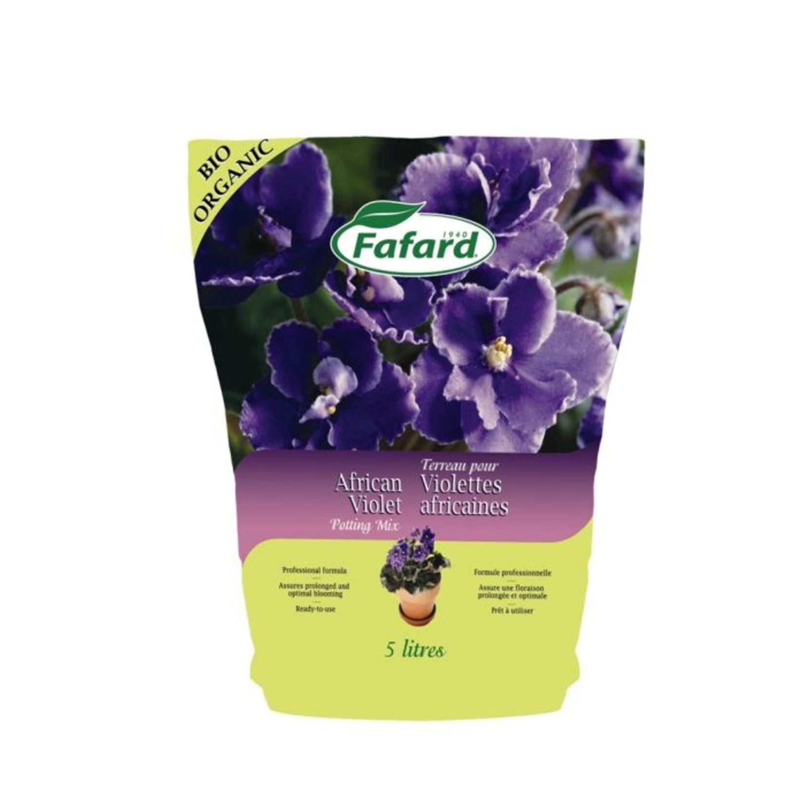 Fafard Terreau pour Violettes Africaines 5 L