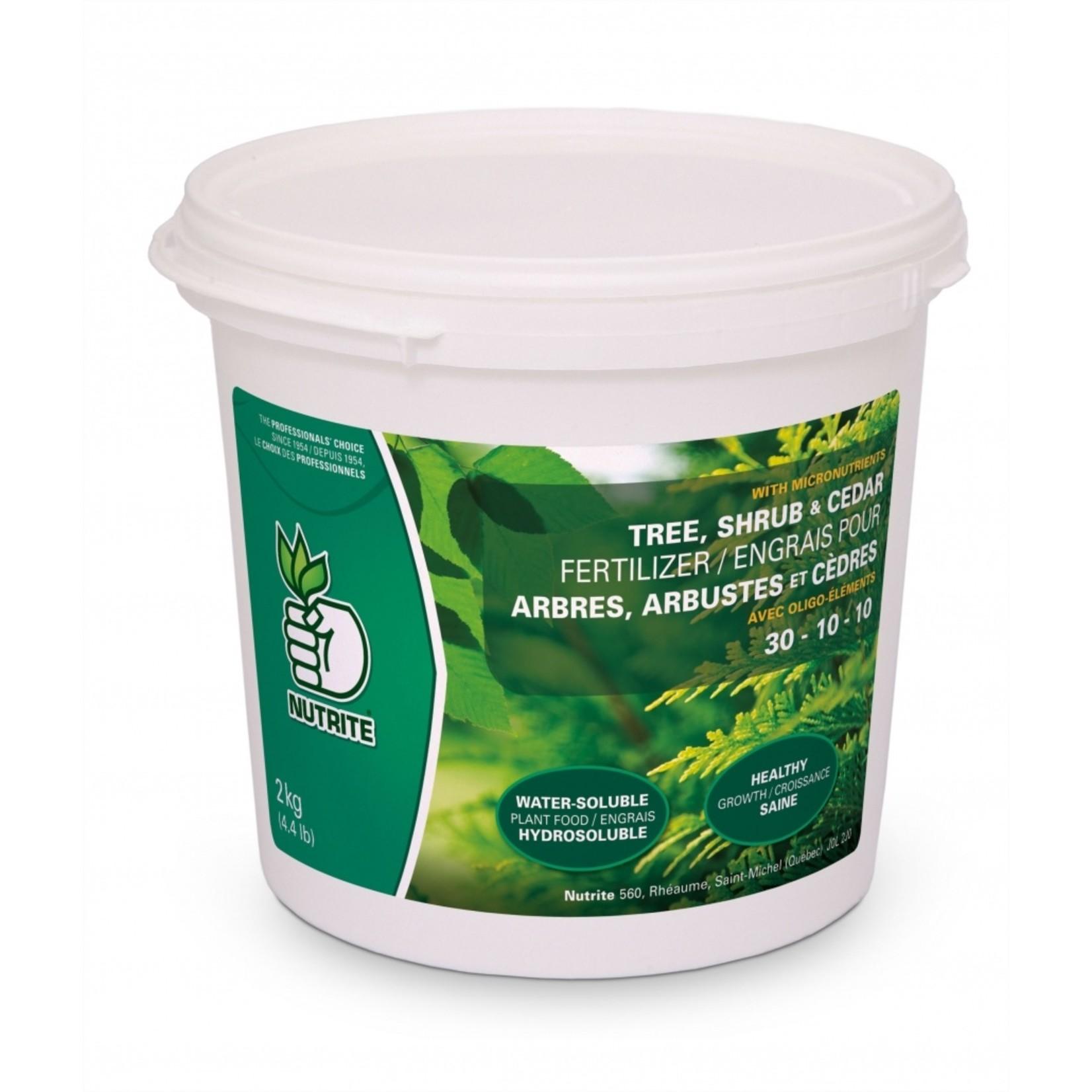 Nutrite Tree, Shrub & Cedar Fertilizer (30-10-10) 2 KG