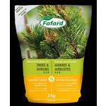 Fafard Engrais Naturel Conifères, Arbres et Arbustes (4-2-8) 2 KG