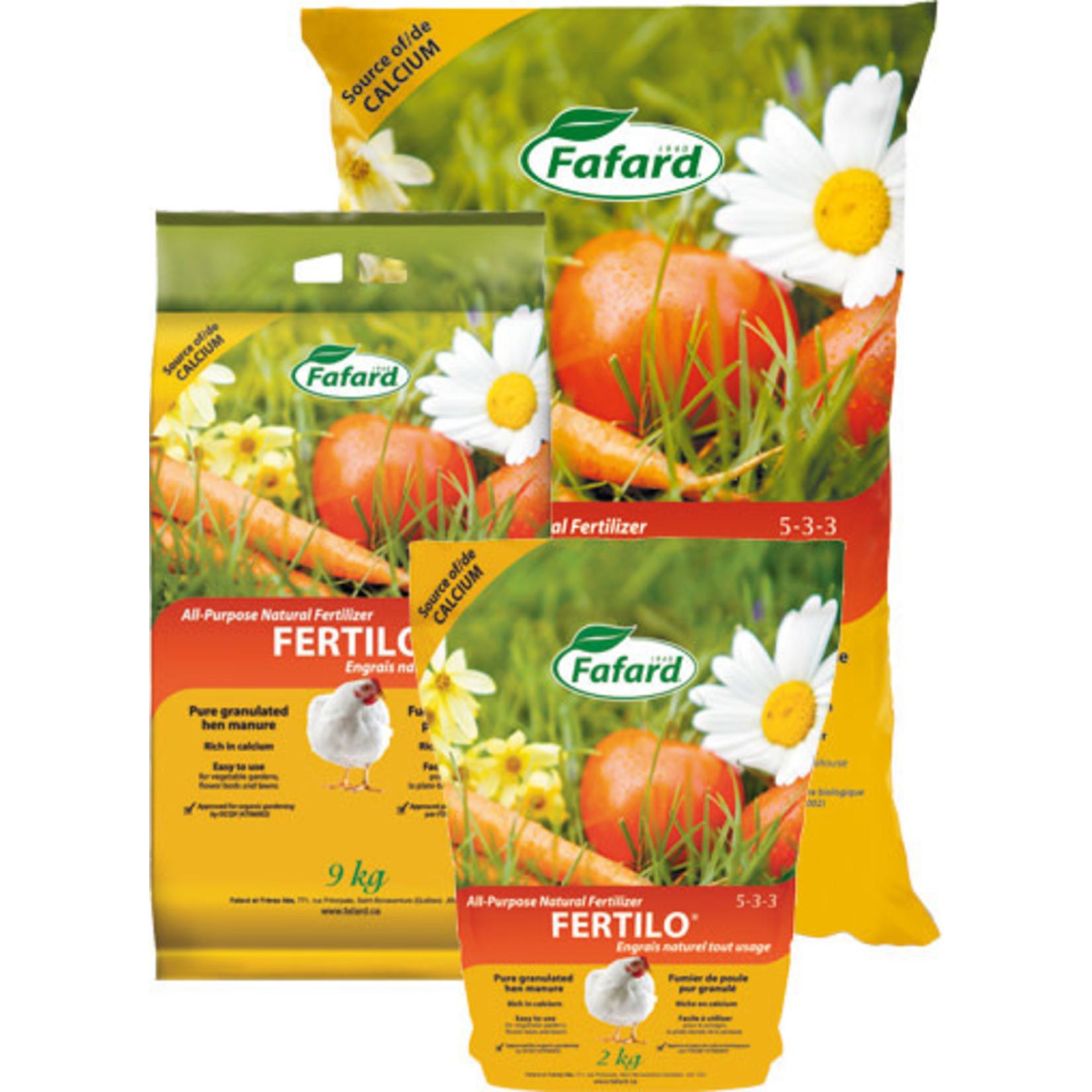 Fafard Natural Fertilizer Fertilo All Purpose (5-3-3) 9 KG