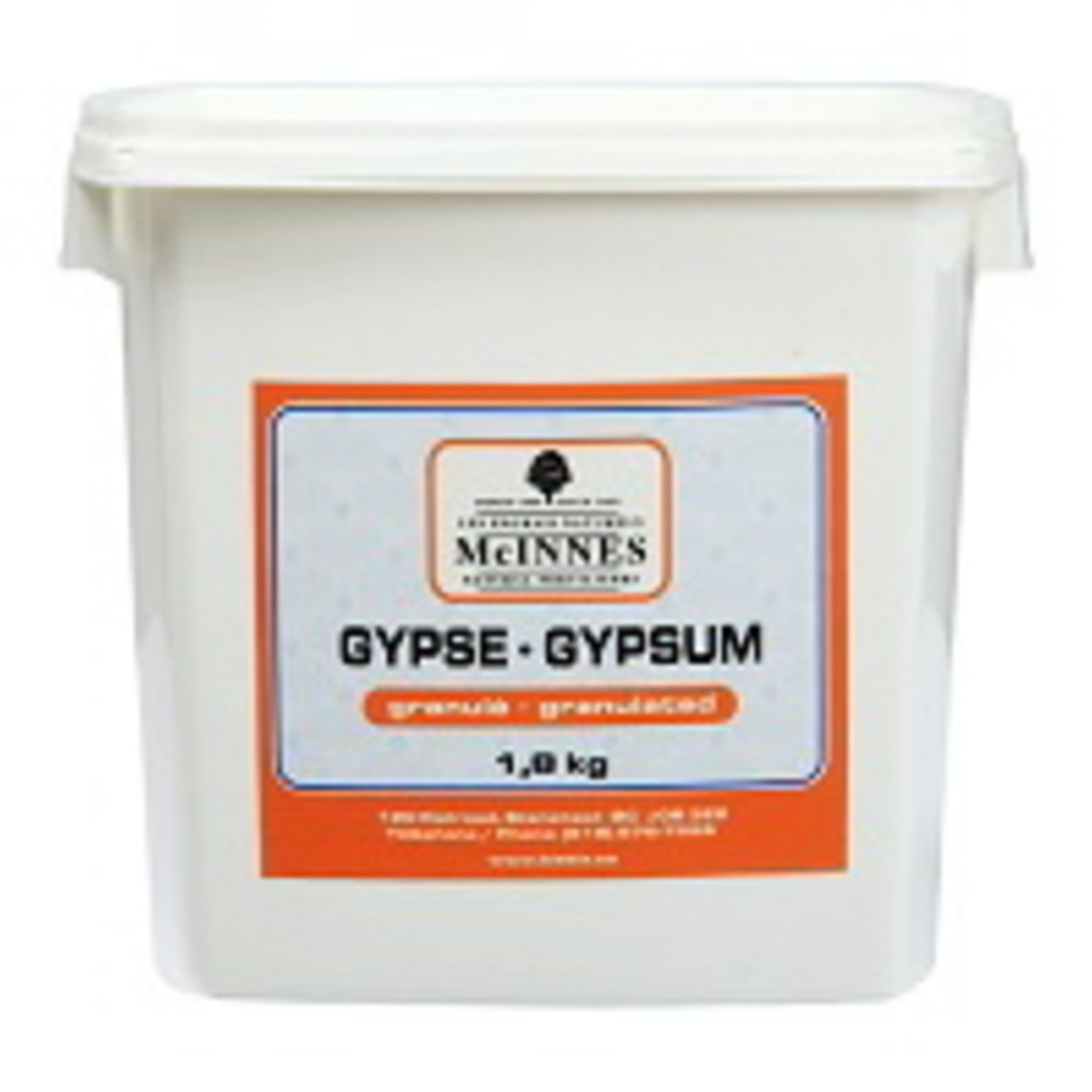 McINNES Gypsum Granulé 1.8kg