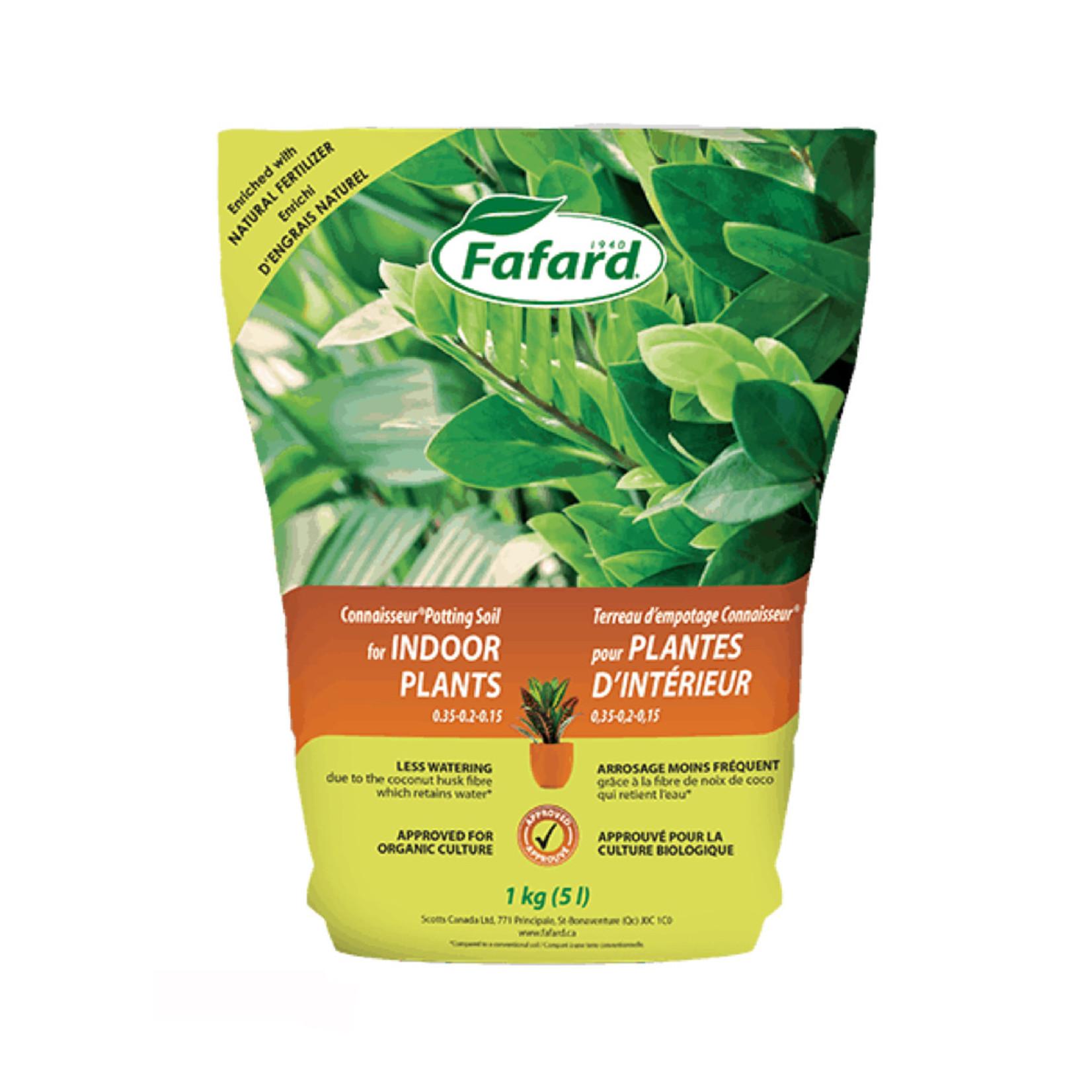 Fafard Connaisseur Potting Soil for Indoor Plants 5 L