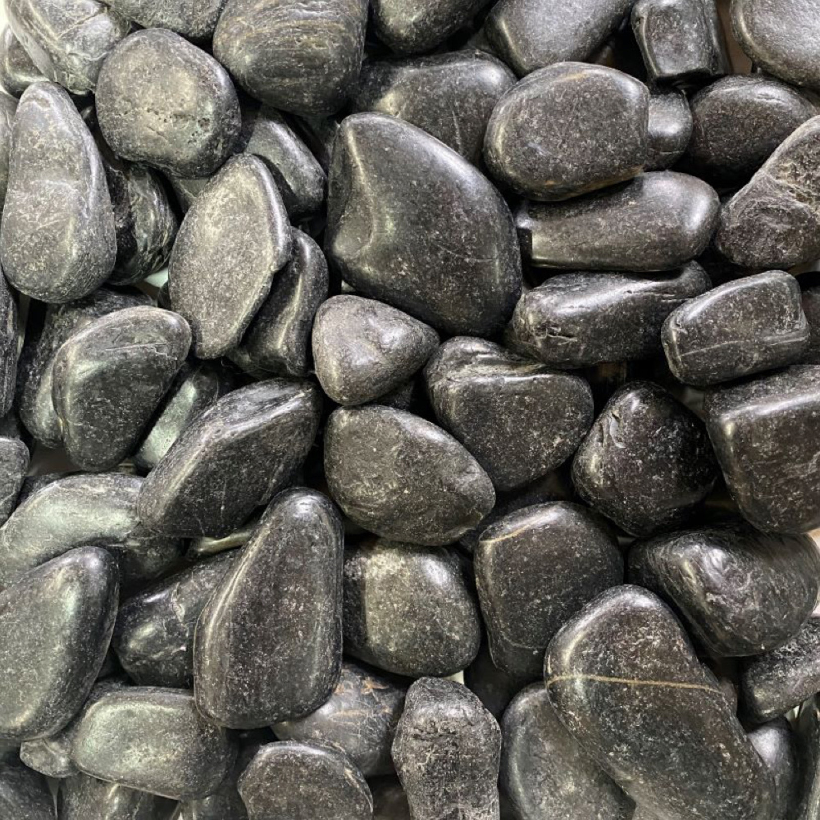 Black Polished Stone (100KG)