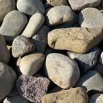 """1""""-2"""" River Stone (1 Ton)"""