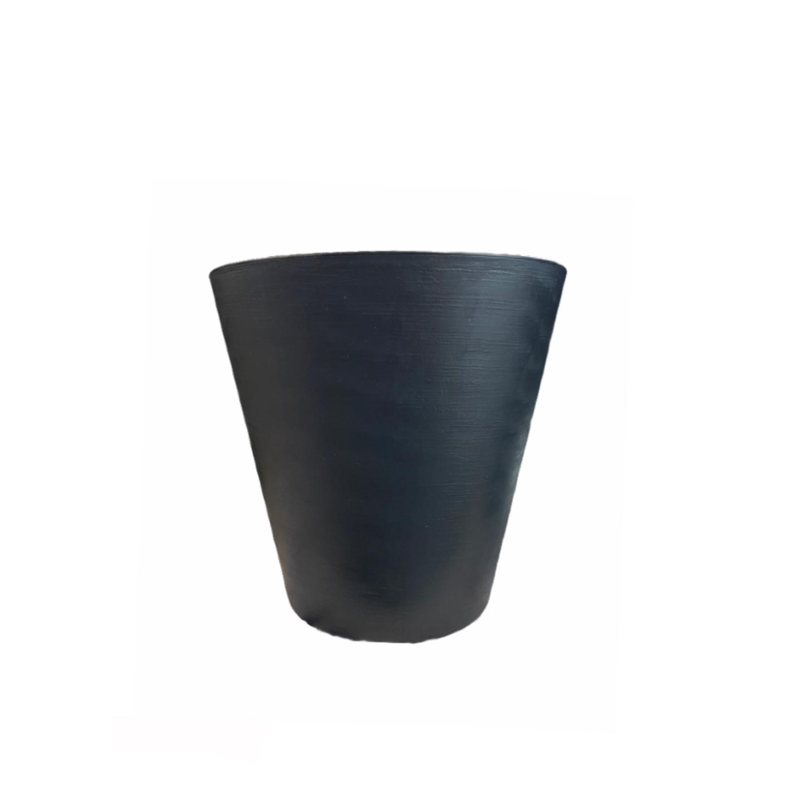 Teraplast Repot Hoop Noir 25cm