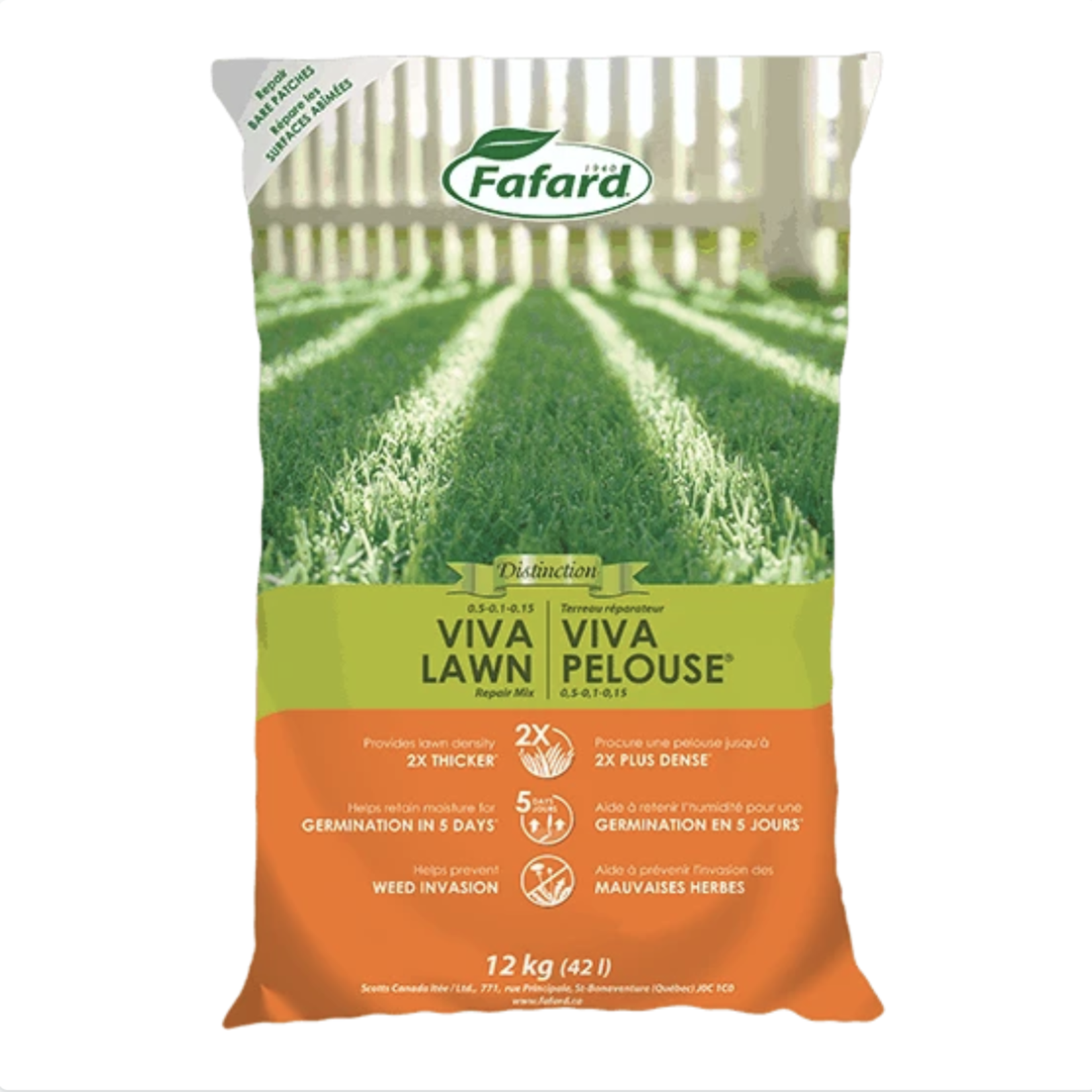Fafard Viva Lawn Repair Mix 42 L