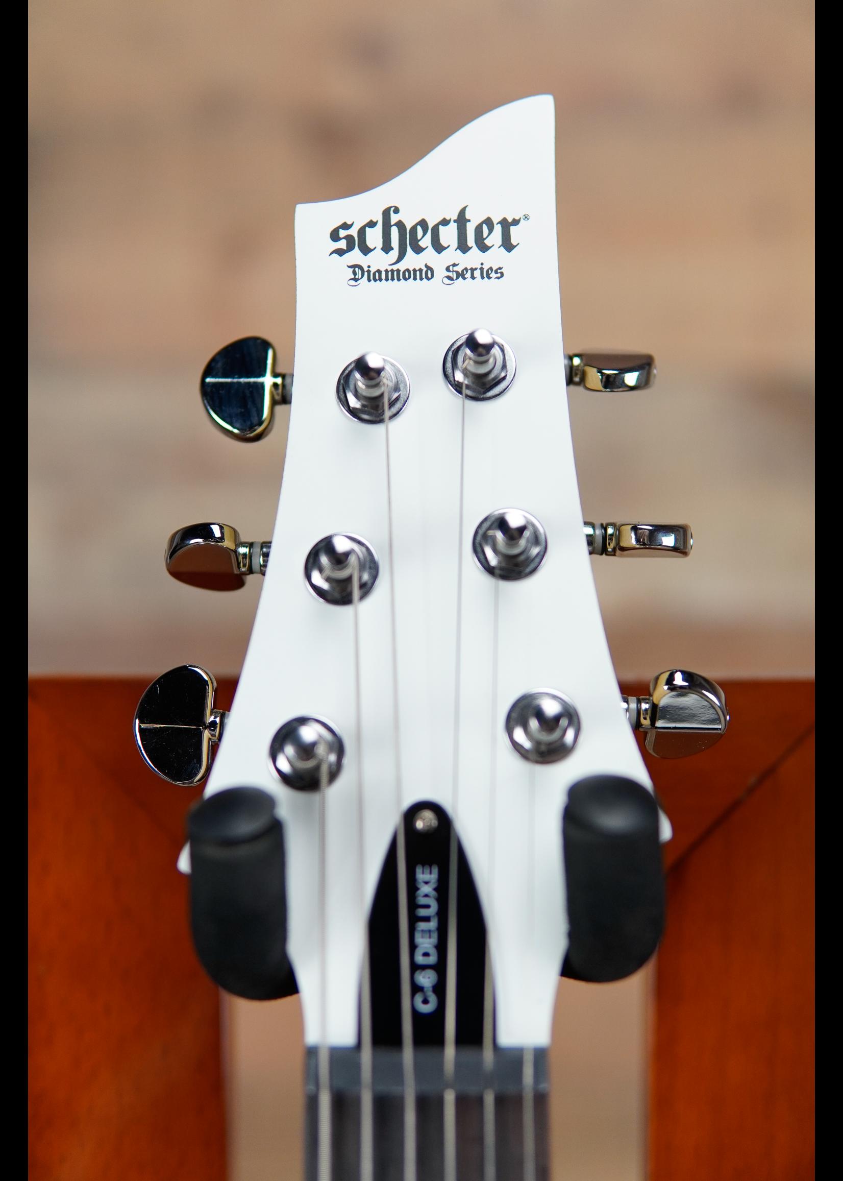 Schecter Schecter C-6 Plus Matte White