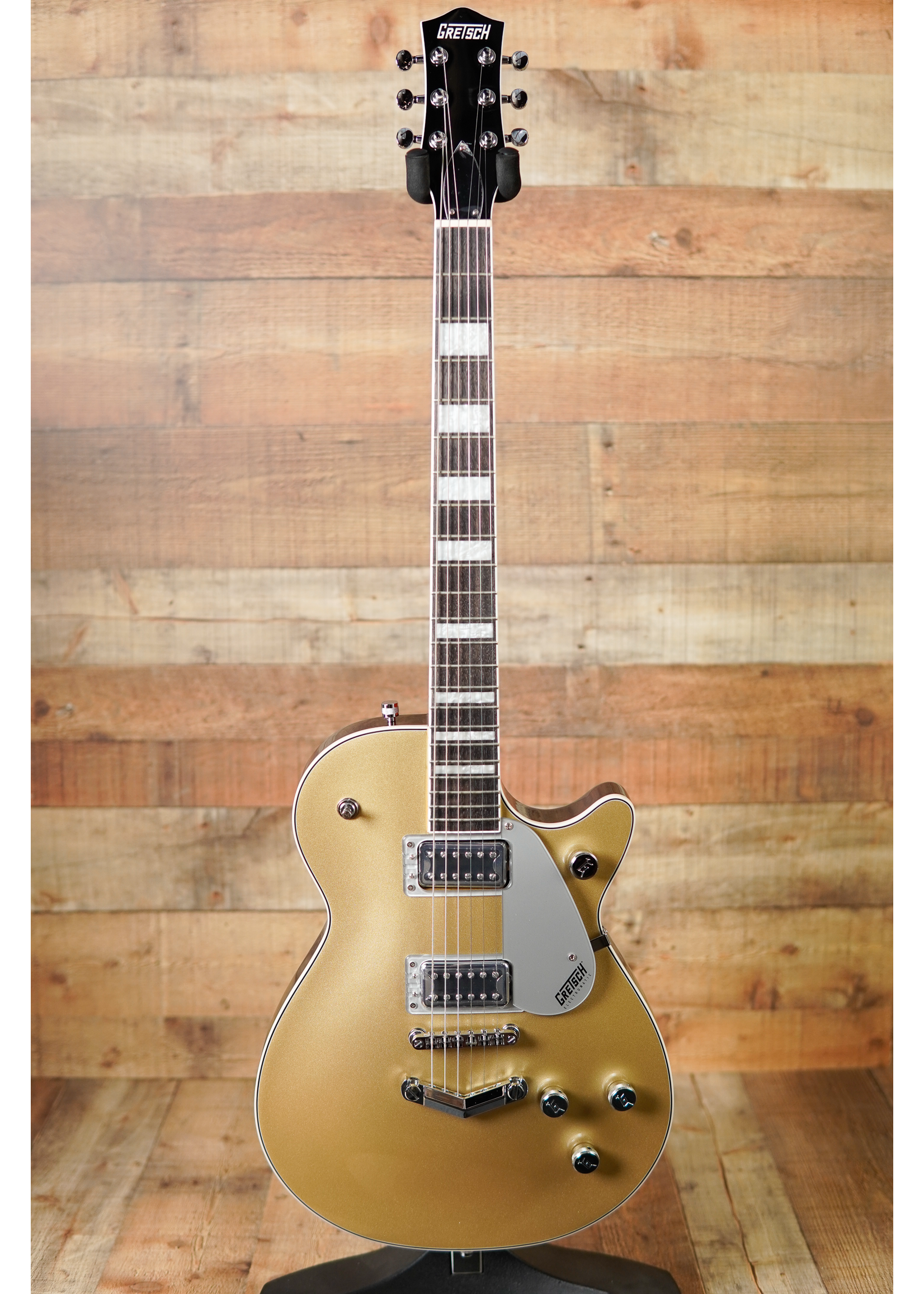 Gretsch Gretsch G5220 ELECTROMATIC® JET™ BT SINGLE-CUT WITH V-STOPTAIL GOLD