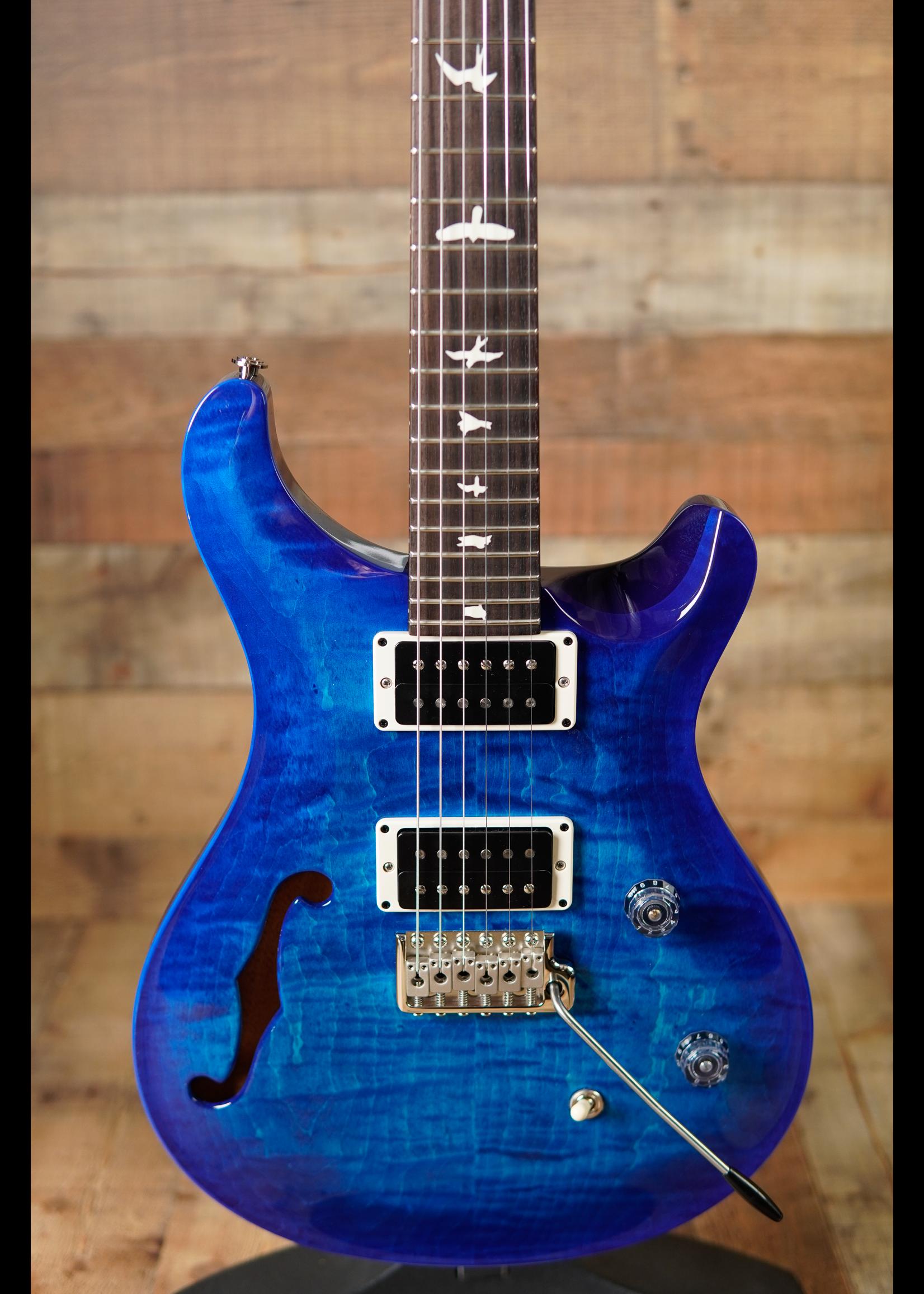 Paul Reed Smith PRS CE24 SEMI-HOLLOW Blue Matteo