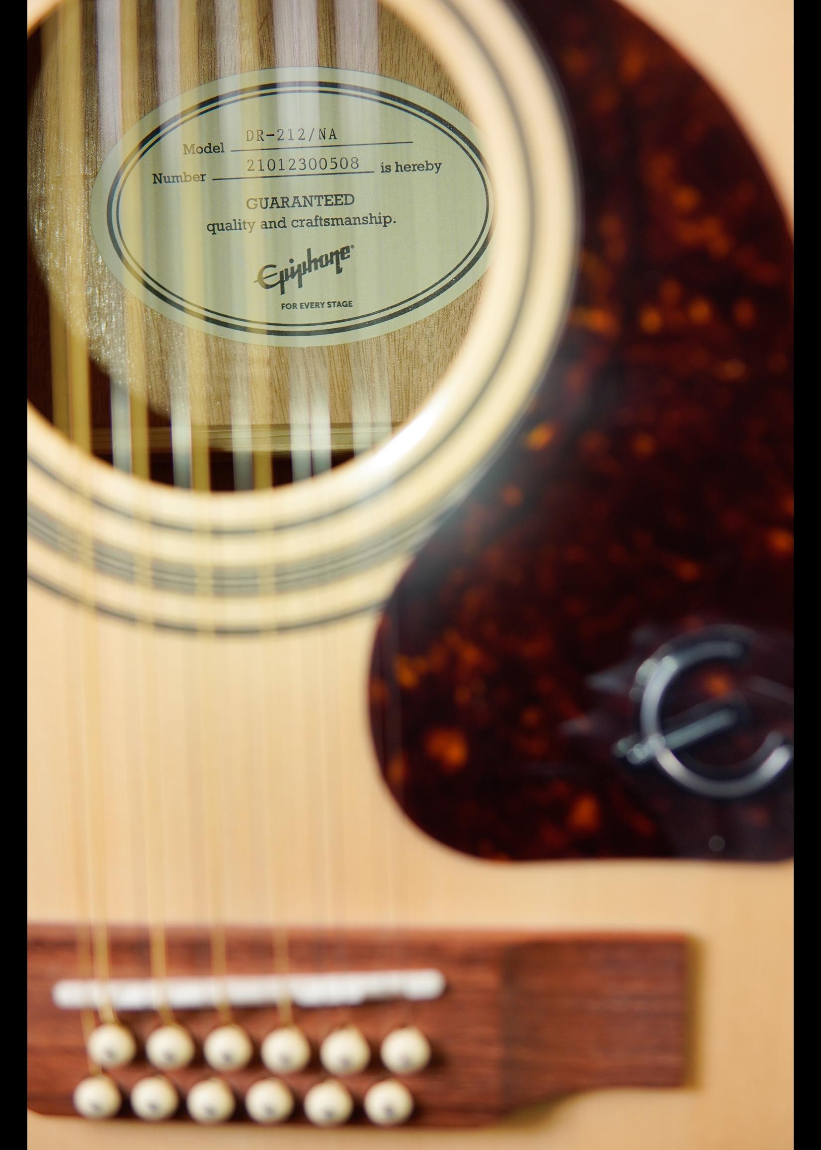 Epiphone Epiphone Songmaker DR-212 (Square Shoulder 12-String)