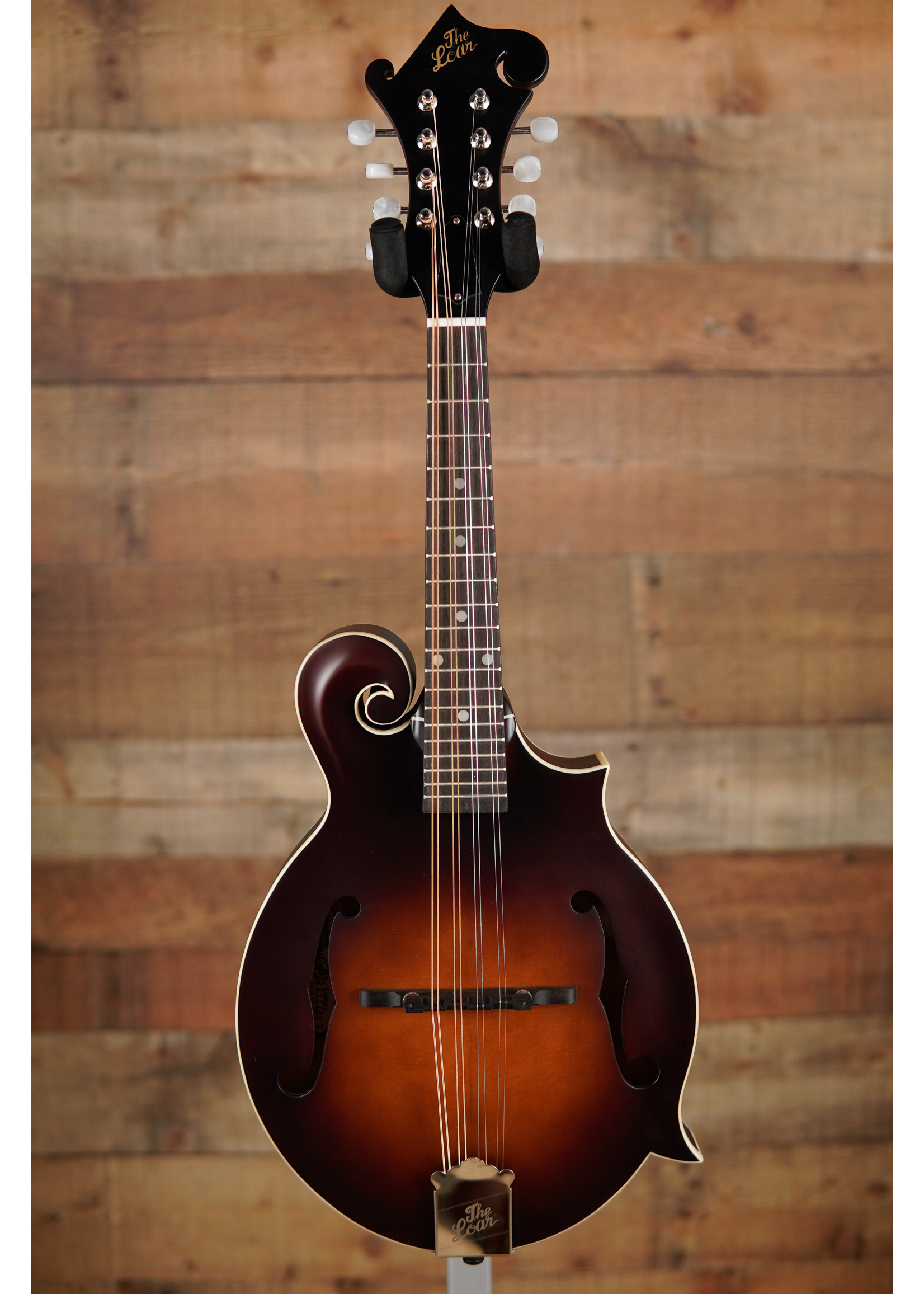 The Loar The Loar F Mandolin, Solid Top, Brownburst