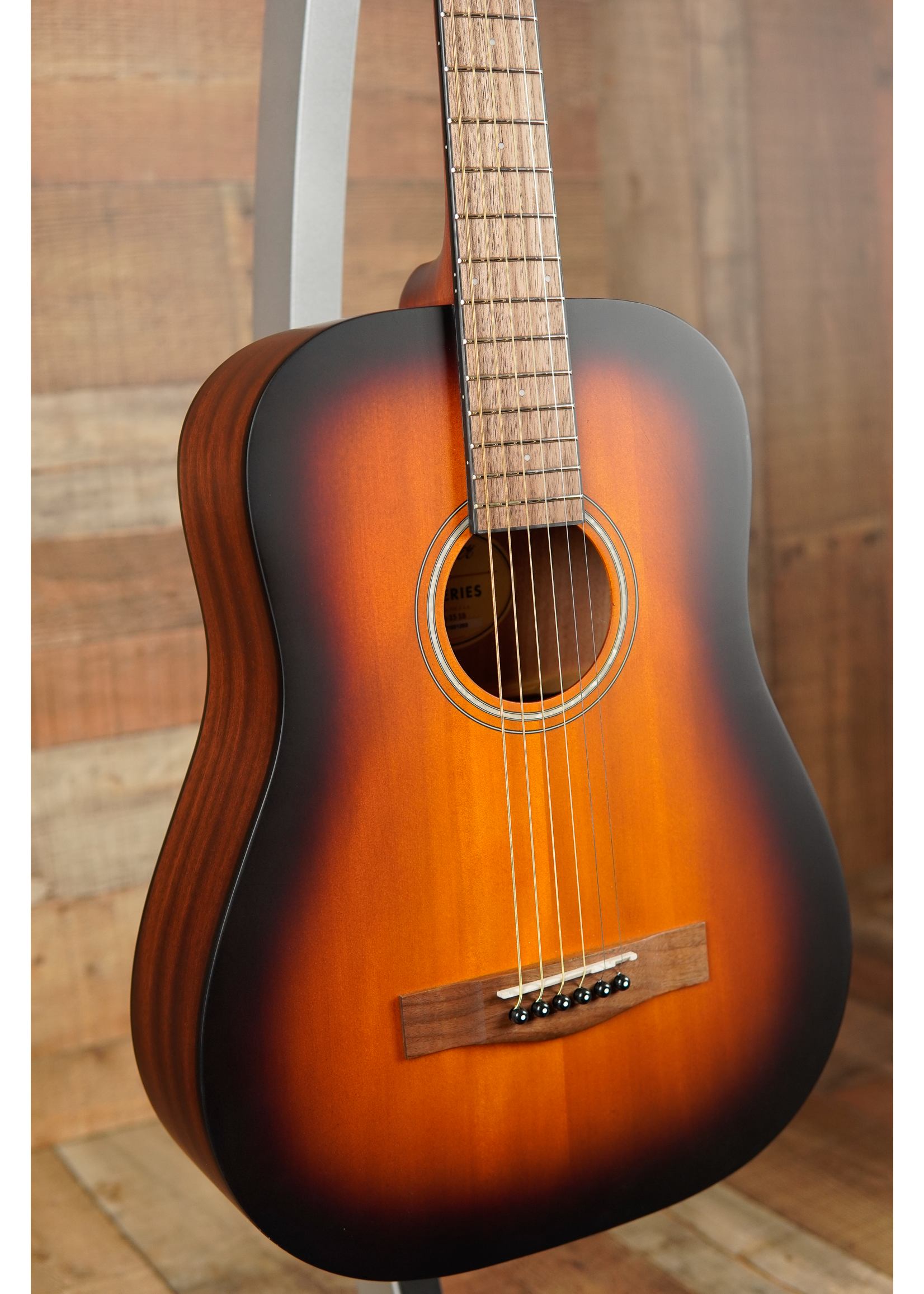 Fender FA-15 3/4 Scale Steel with Gig Bag, Walnut Fingerboard, Sunburst