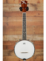 Eddy Finn Eddy Finn EF-BU2F Deluxe Resonator Banjo Uke Banjolele w Bag