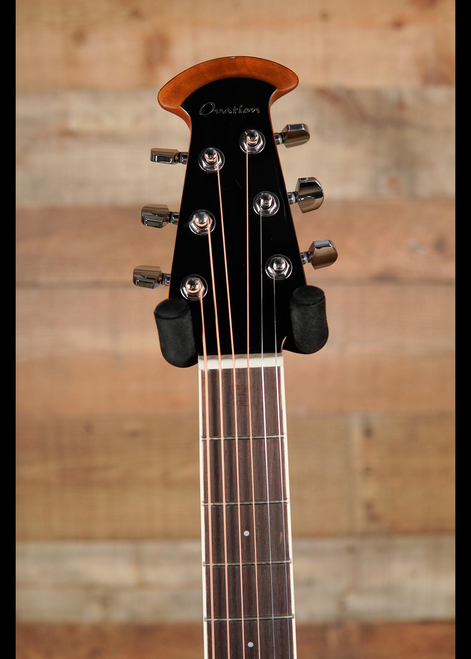 Ovation Ovation Celebrity E-Acoustic CS24X-7C, Cognac Burst, Mid-Depth