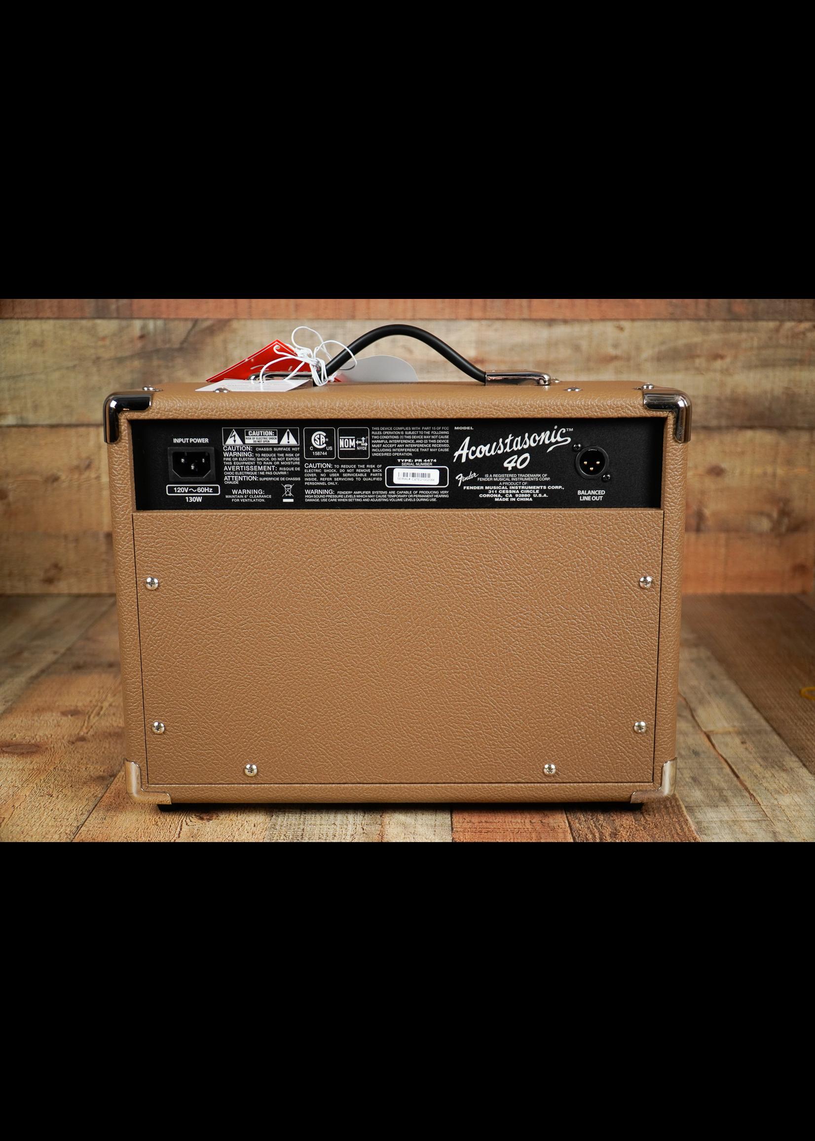Fender Fender ACOUSTASONIC™ 40