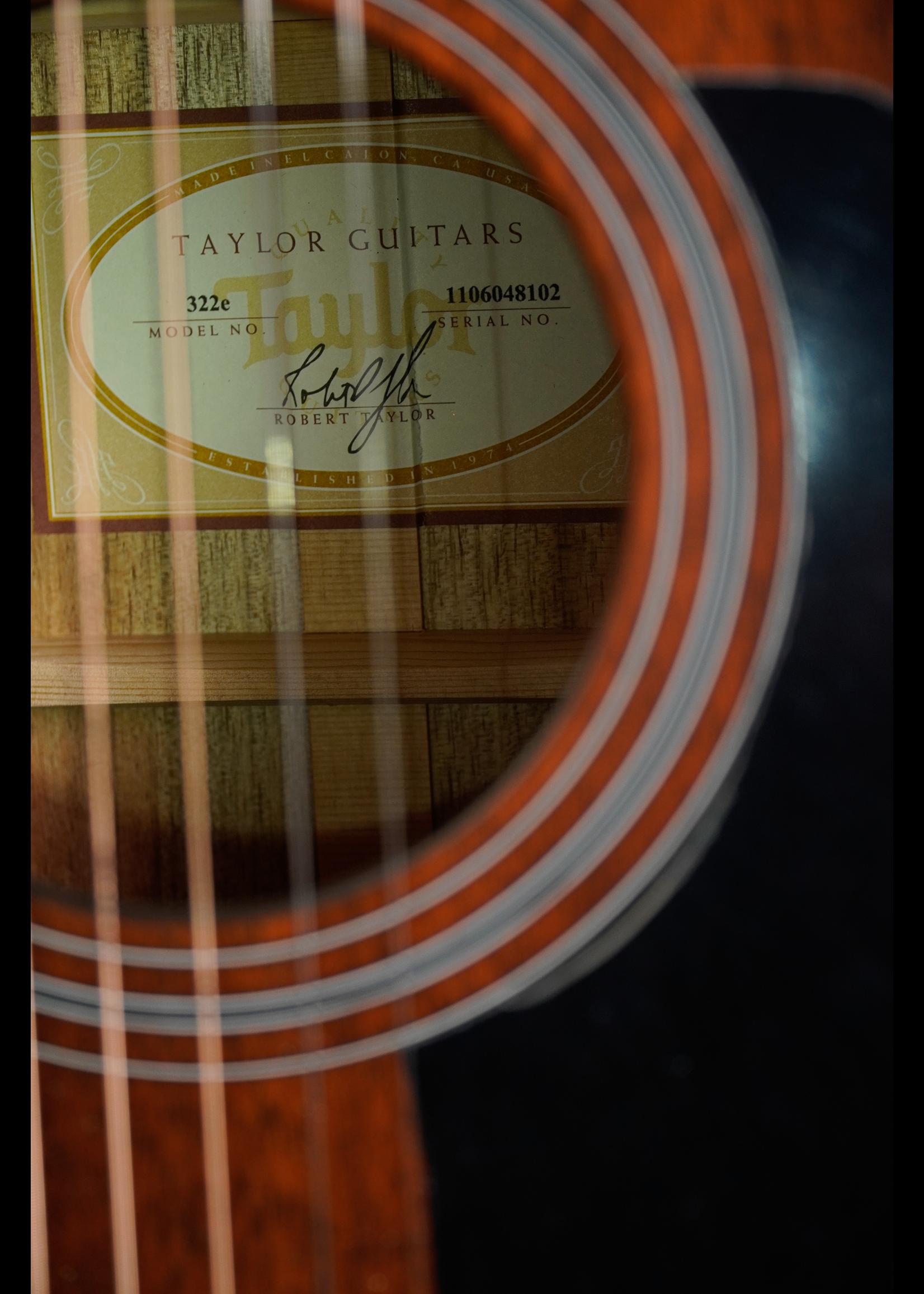 Taylor Taylor 322e 2018 Shaded Edge Burst