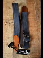 franklin Franklin 2'' Denim/Ball Glove Leather End Blue/Cognac