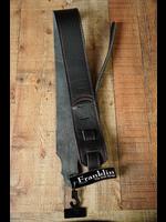 "franklin Franklin 2.5"" Black Glove Leather/Red Stitching"