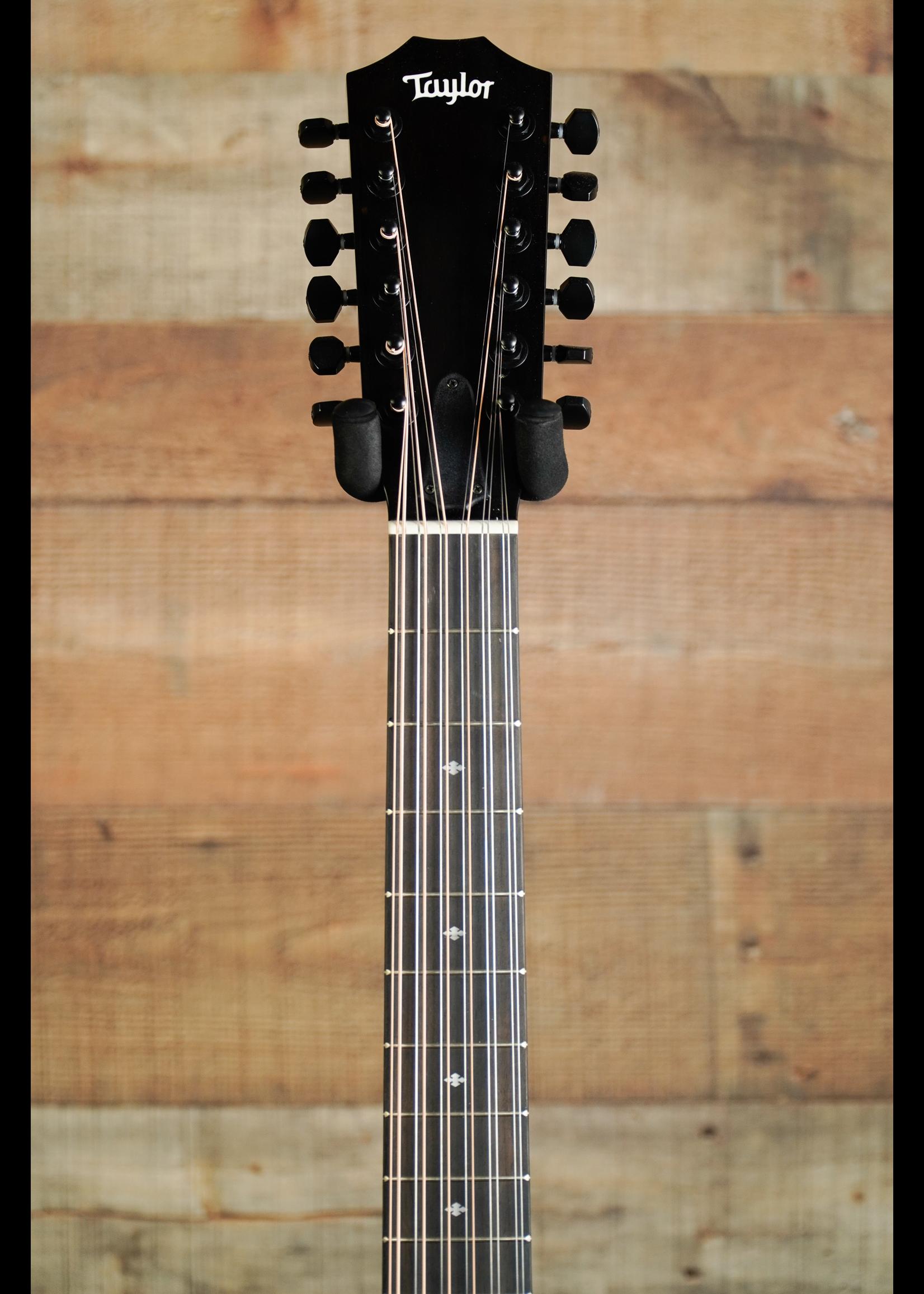 Taylor Taylor  250e BLK DLX 12 String  Black