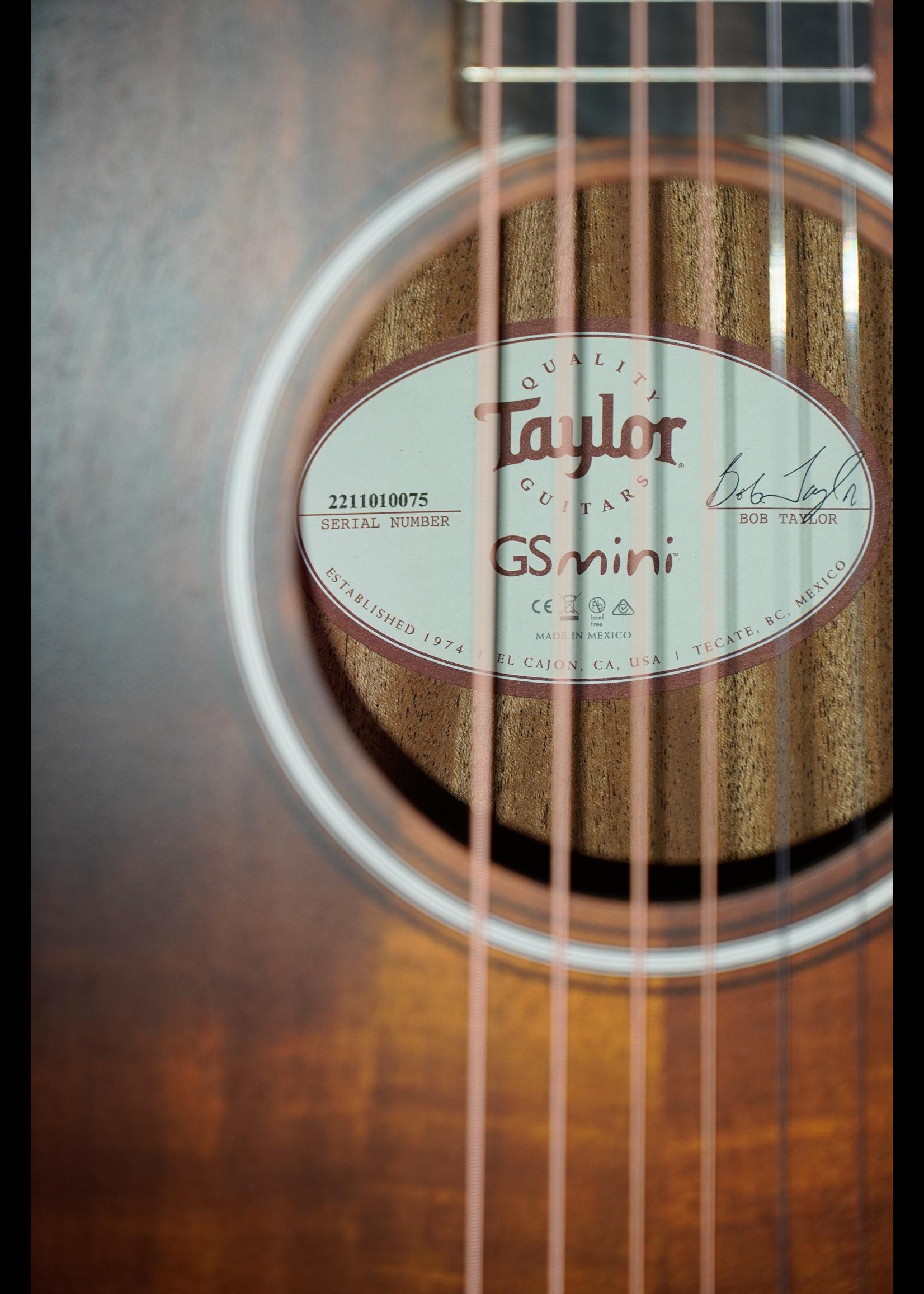 Taylor Taylor  GS Mini-e Plus  Koa Shaded Edge Burst