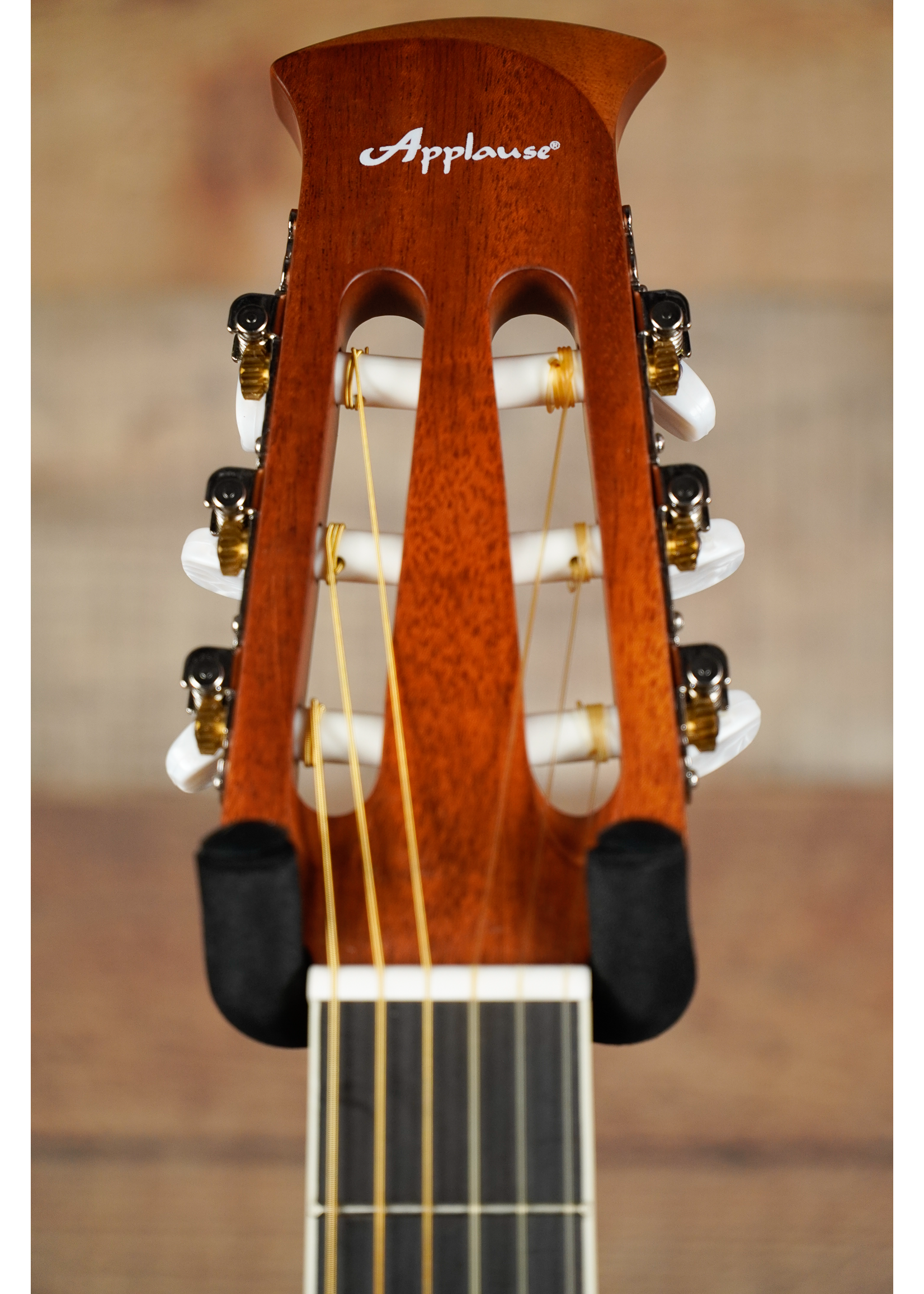 Applause Applause E-Acoustic Classical AB24CS-4S, Satin Spruce Mid-Depth