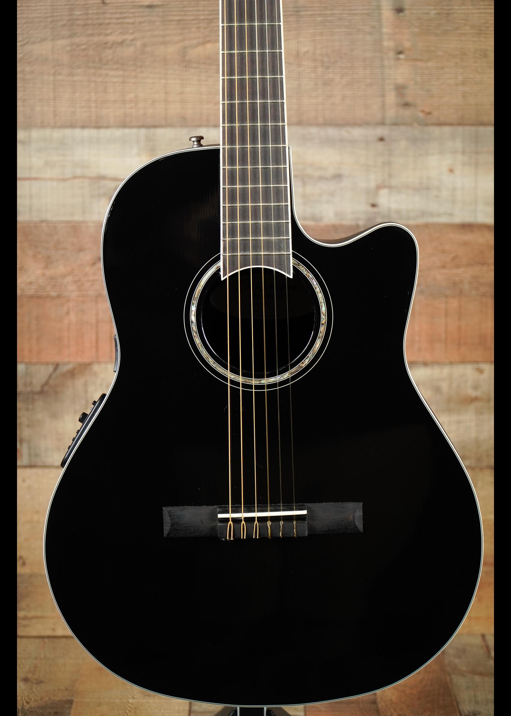 Ovation Ovation Celebrity Standard E-Acoustic CS24C-5G Black Mid-Depth