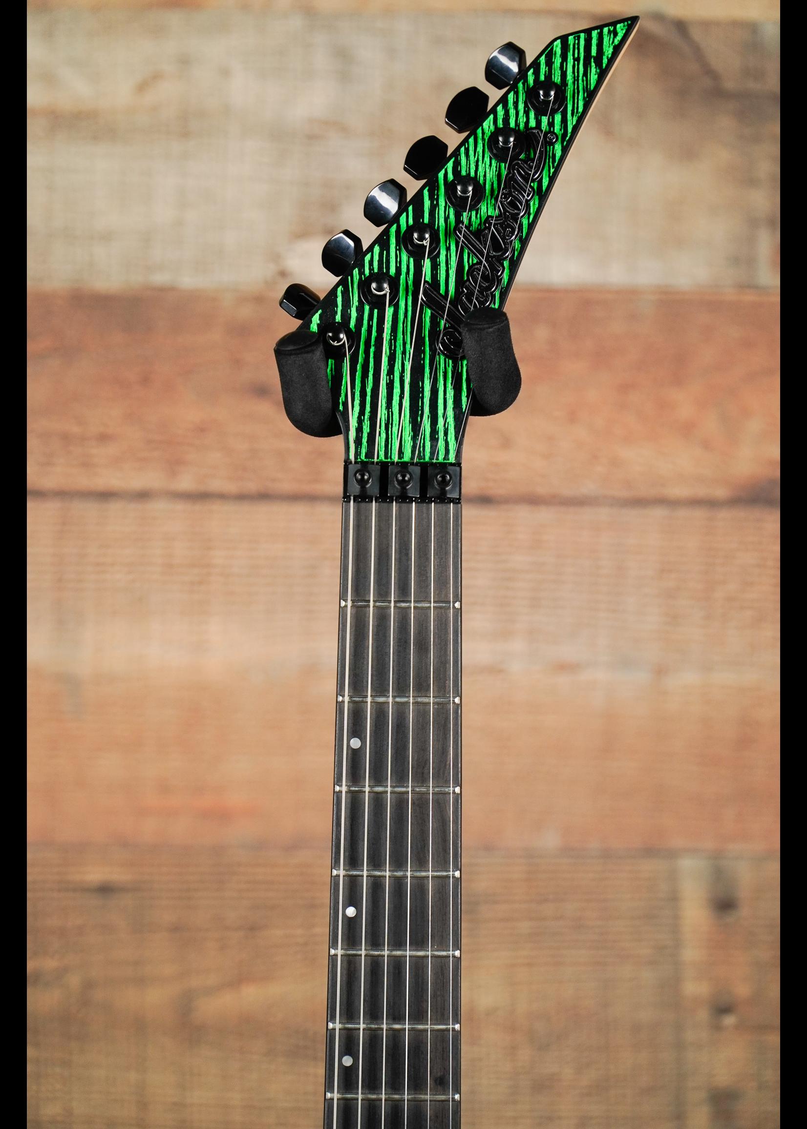 Jackson Jackson Pro Series Dinky™ DK2 Ash, Ebony Fingerboard, Green Glow