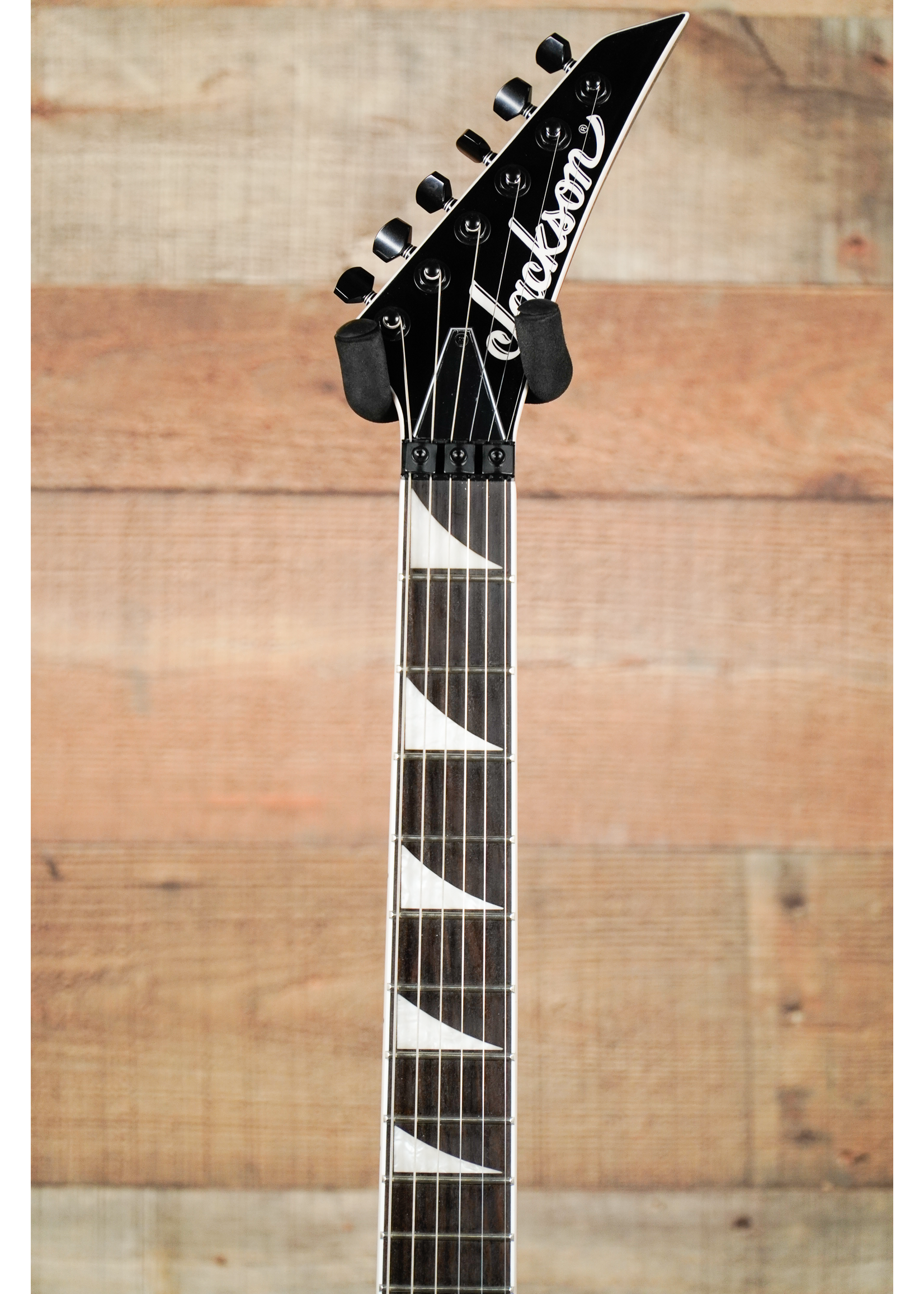 Jackson Jackson  X Series Soloist™ SL3X DX Crackle, Laurel Fingerboard Silver Crackle