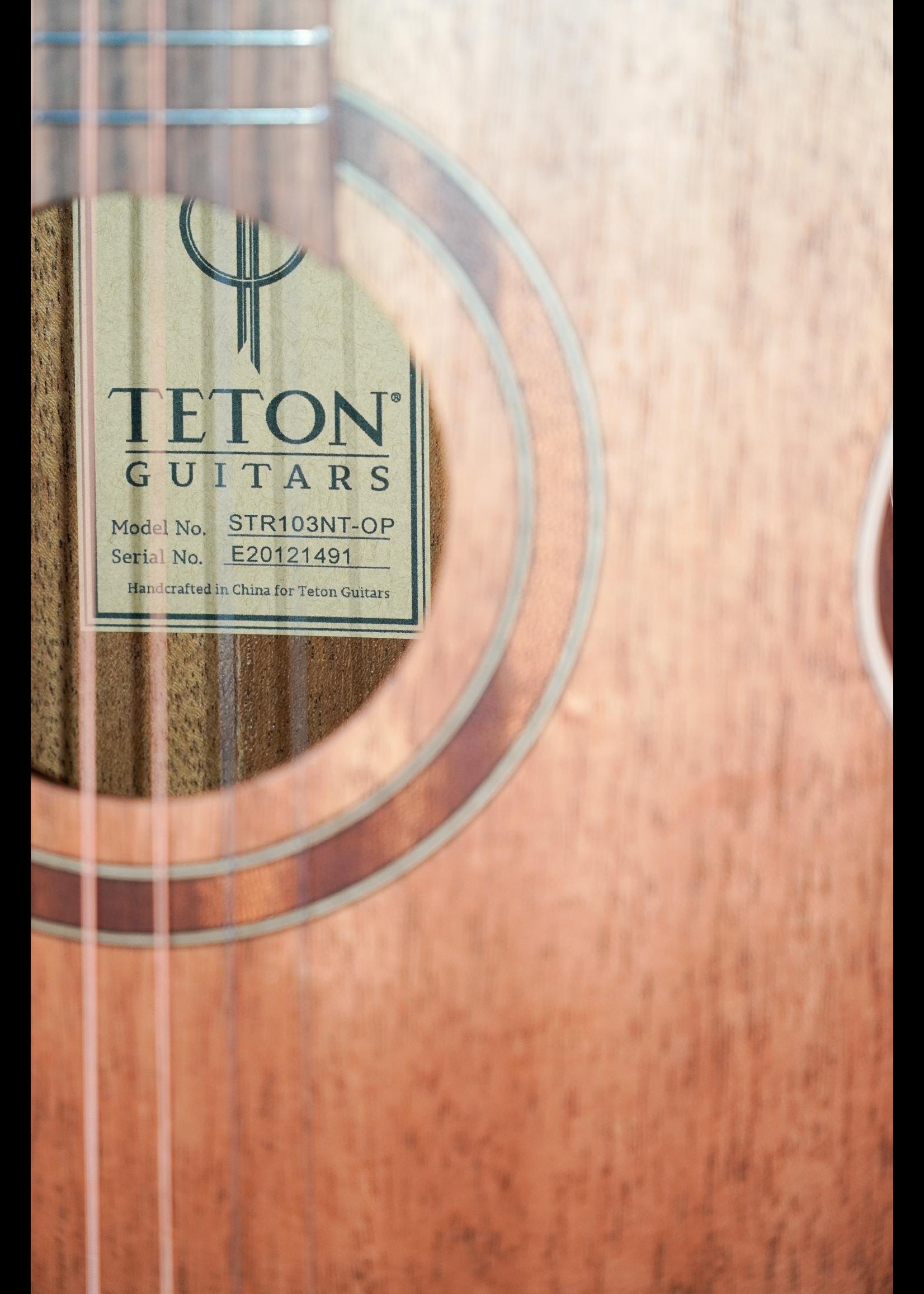 Teton Teton  STR103NT Mahogany