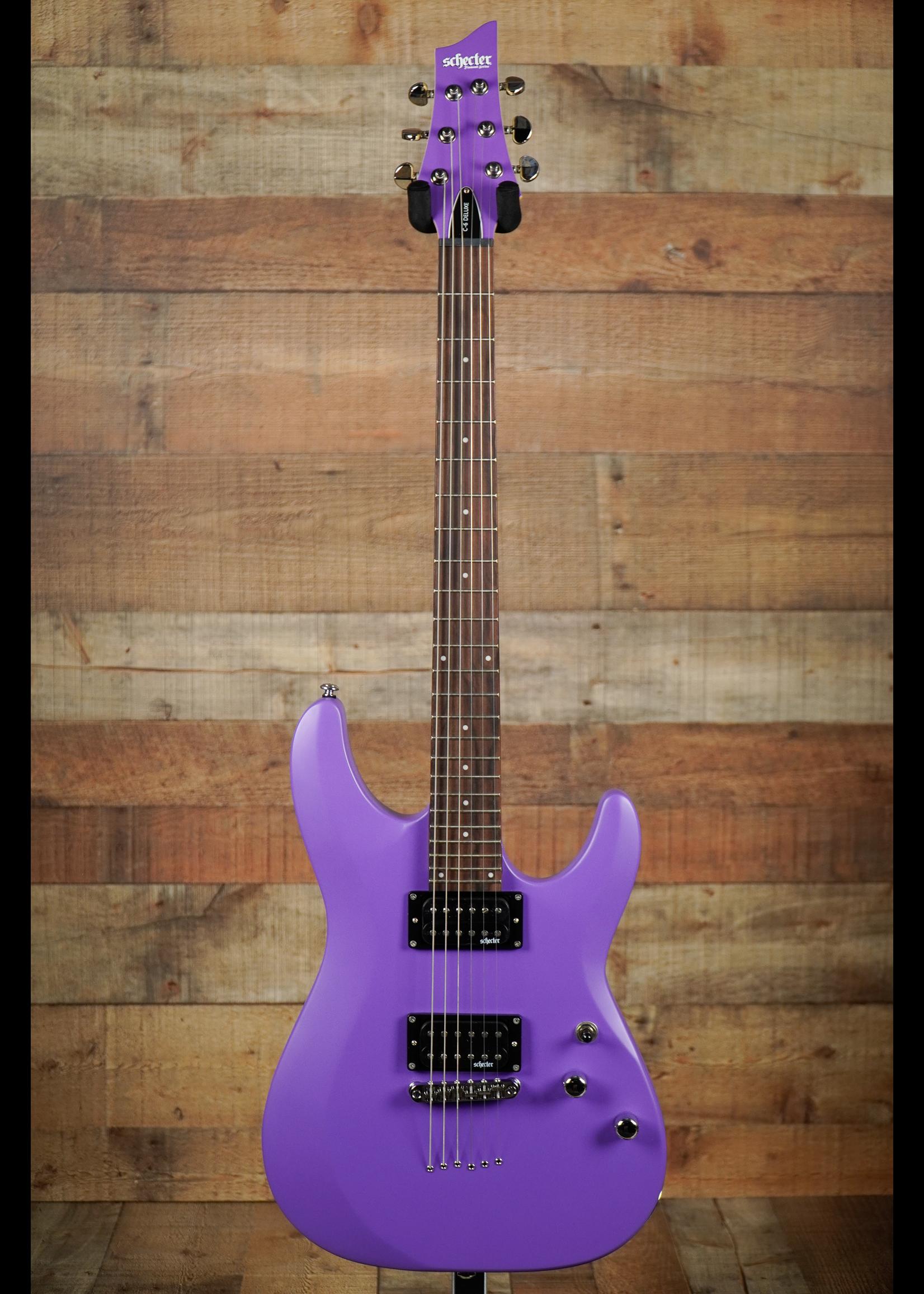 Schecter Schecter  C-6 Deluxe Satin Purple