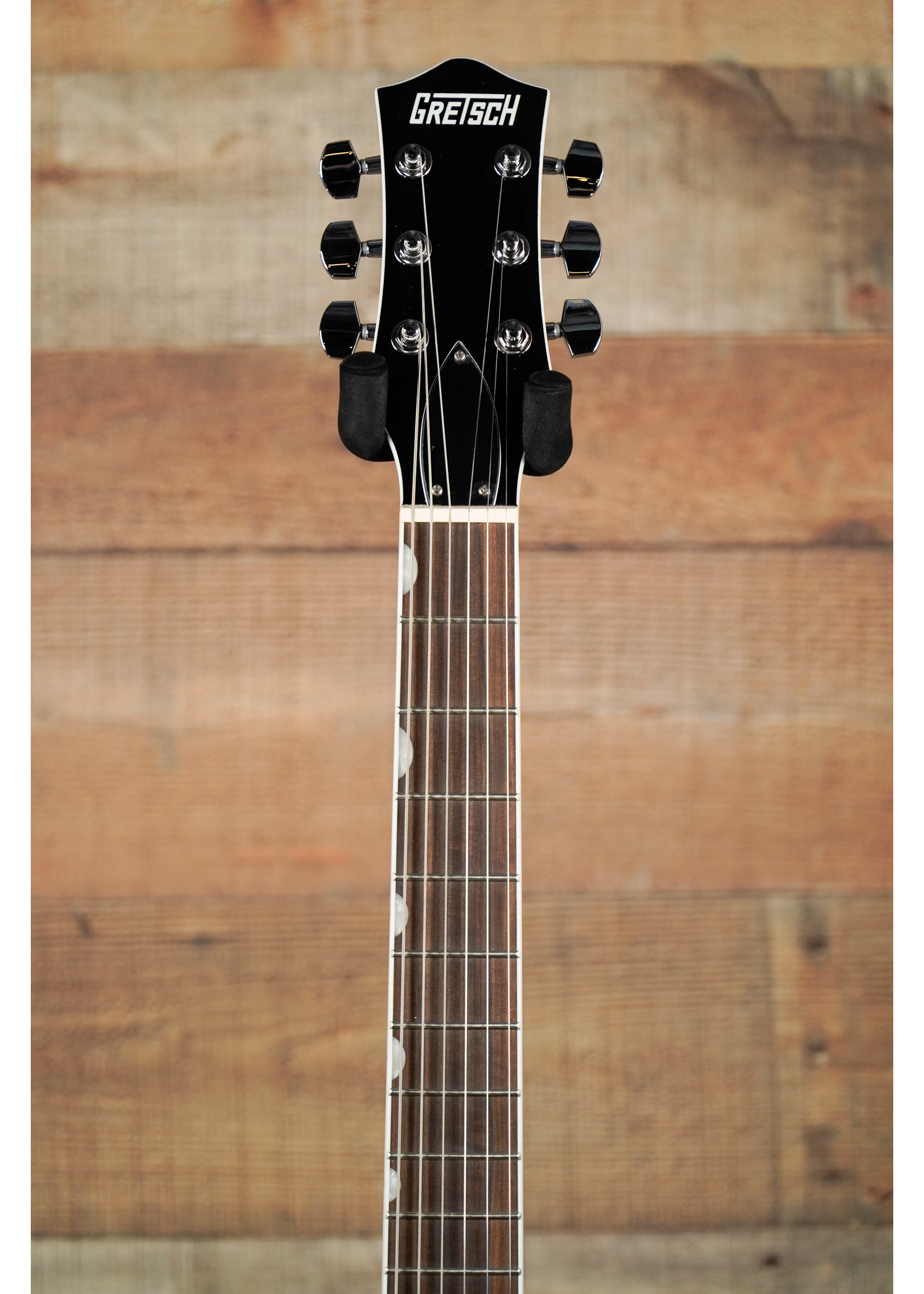 Gretsch Gretsch G5222 Electromatic® Double Jet™ BT with V-Stoptail, Laurel Fingerboard, Aged Natural
