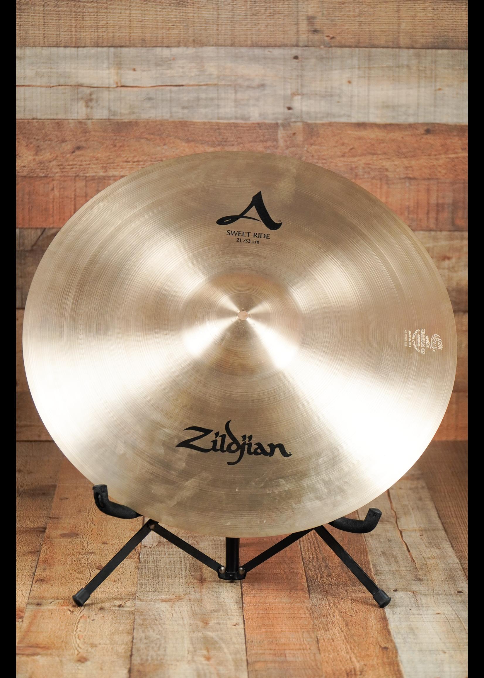 """Zildjian 21"""" A Zildjian Sweet Ride"""