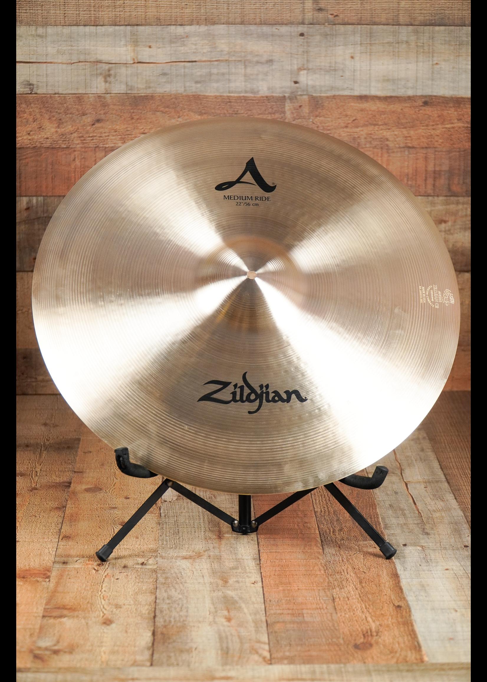 """Zildjian 22"""" A Zildjian Medium Ride"""